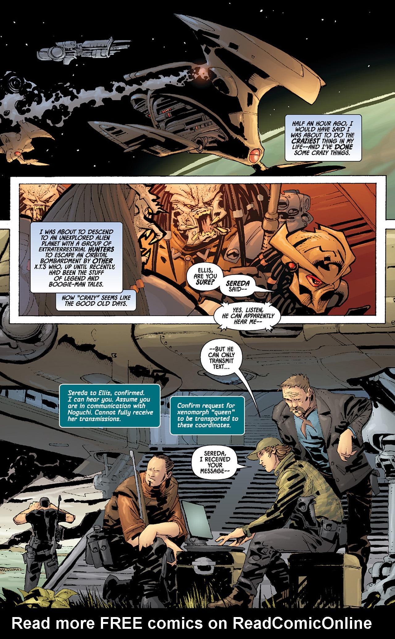 Read online Aliens vs. Predator: Three World War comic -  Issue #6 - 3