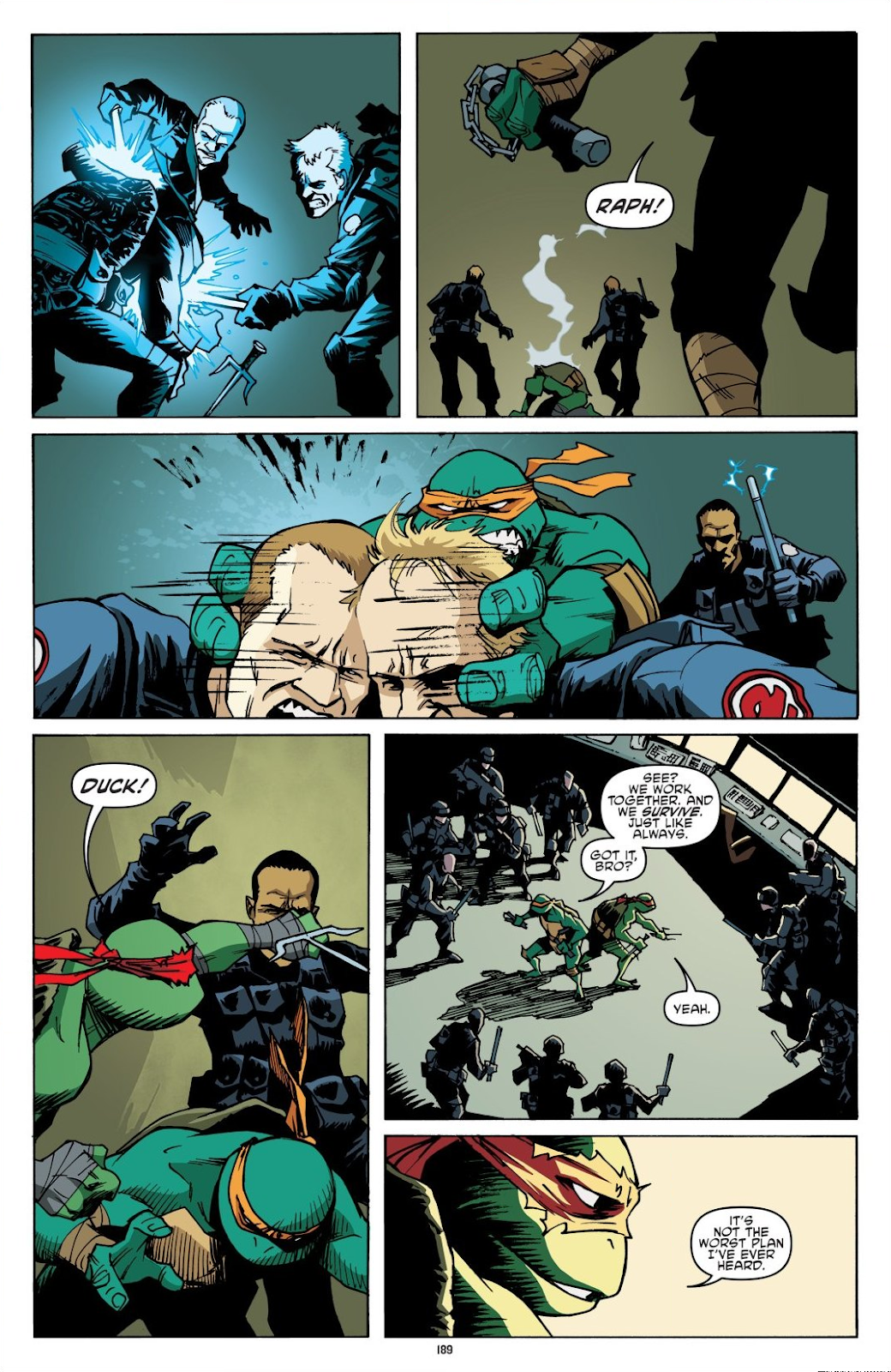 Read online Teenage Mutant Ninja Turtles: The IDW Collection comic -  Issue # TPB 8 (Part 2) - 88