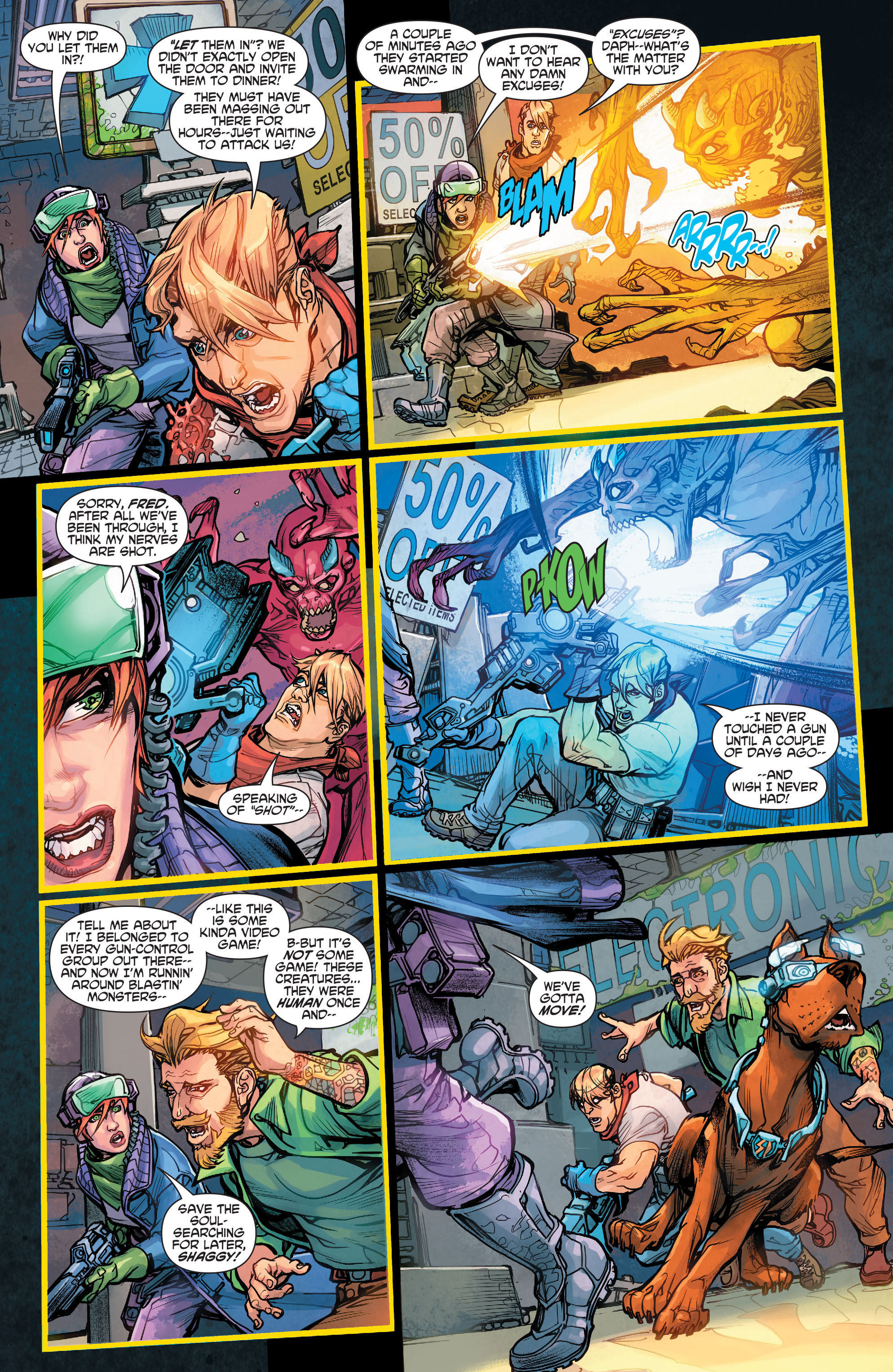 Read online Scooby Apocalypse comic -  Issue #5 - 7