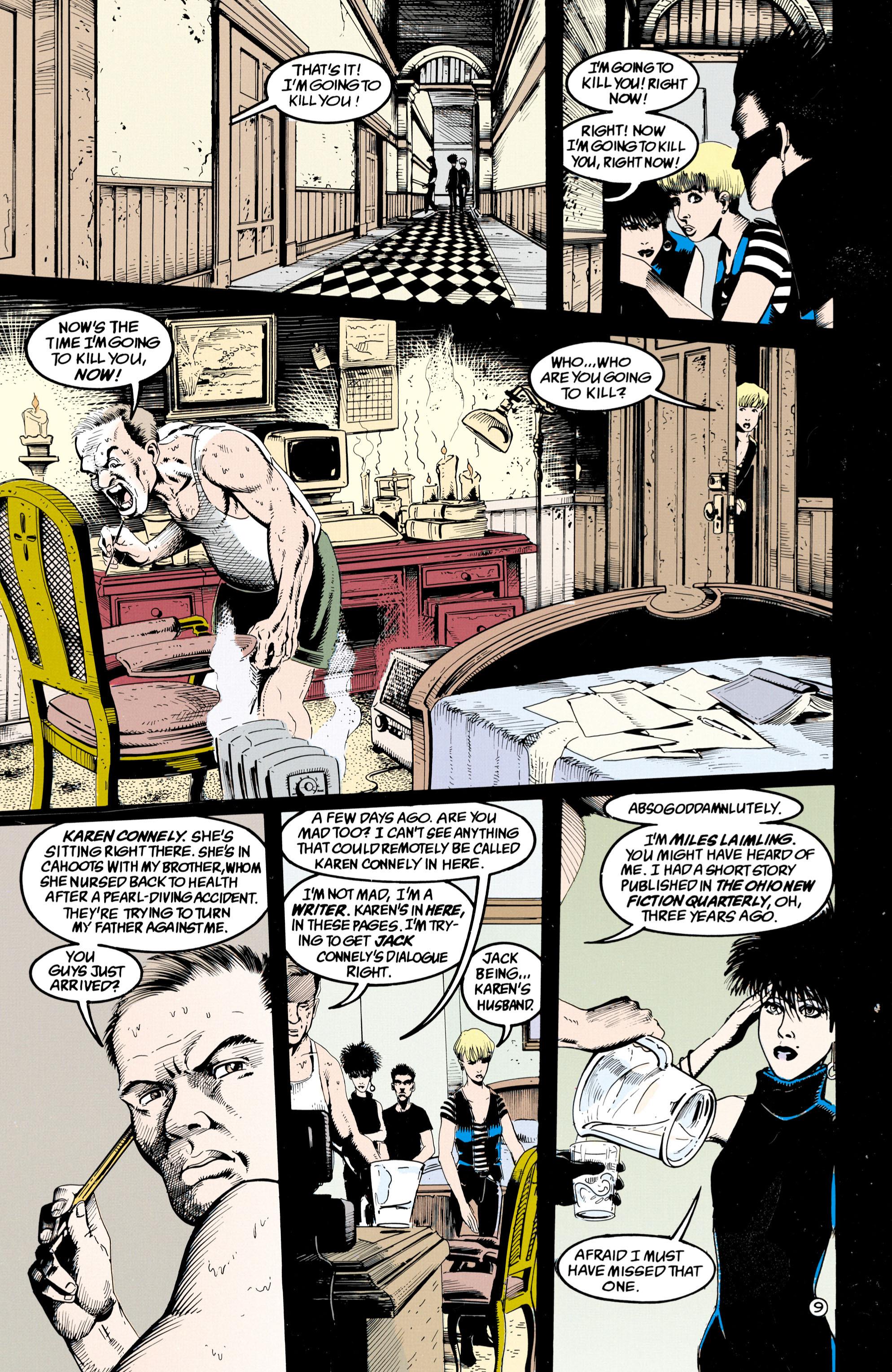 Read online Shade, the Changing Man comic -  Issue #36 - 10