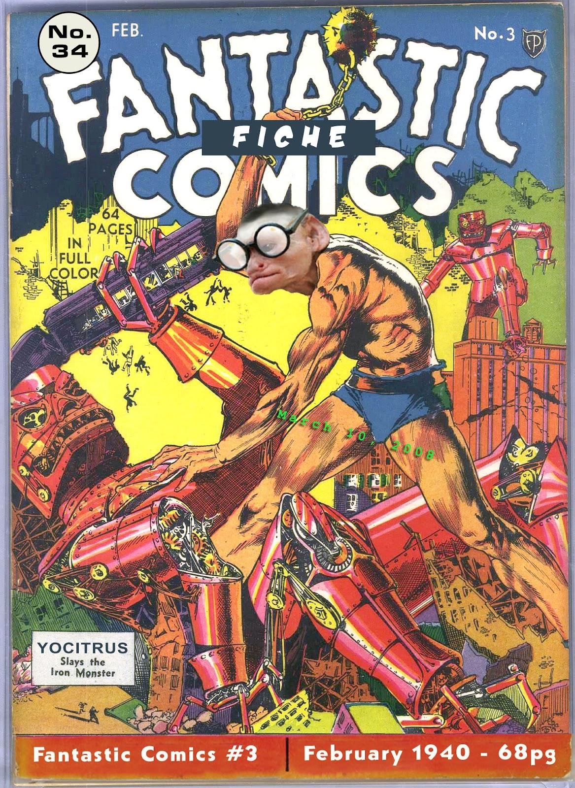 Read online Fantastic Comics comic -  Issue #3 - 1