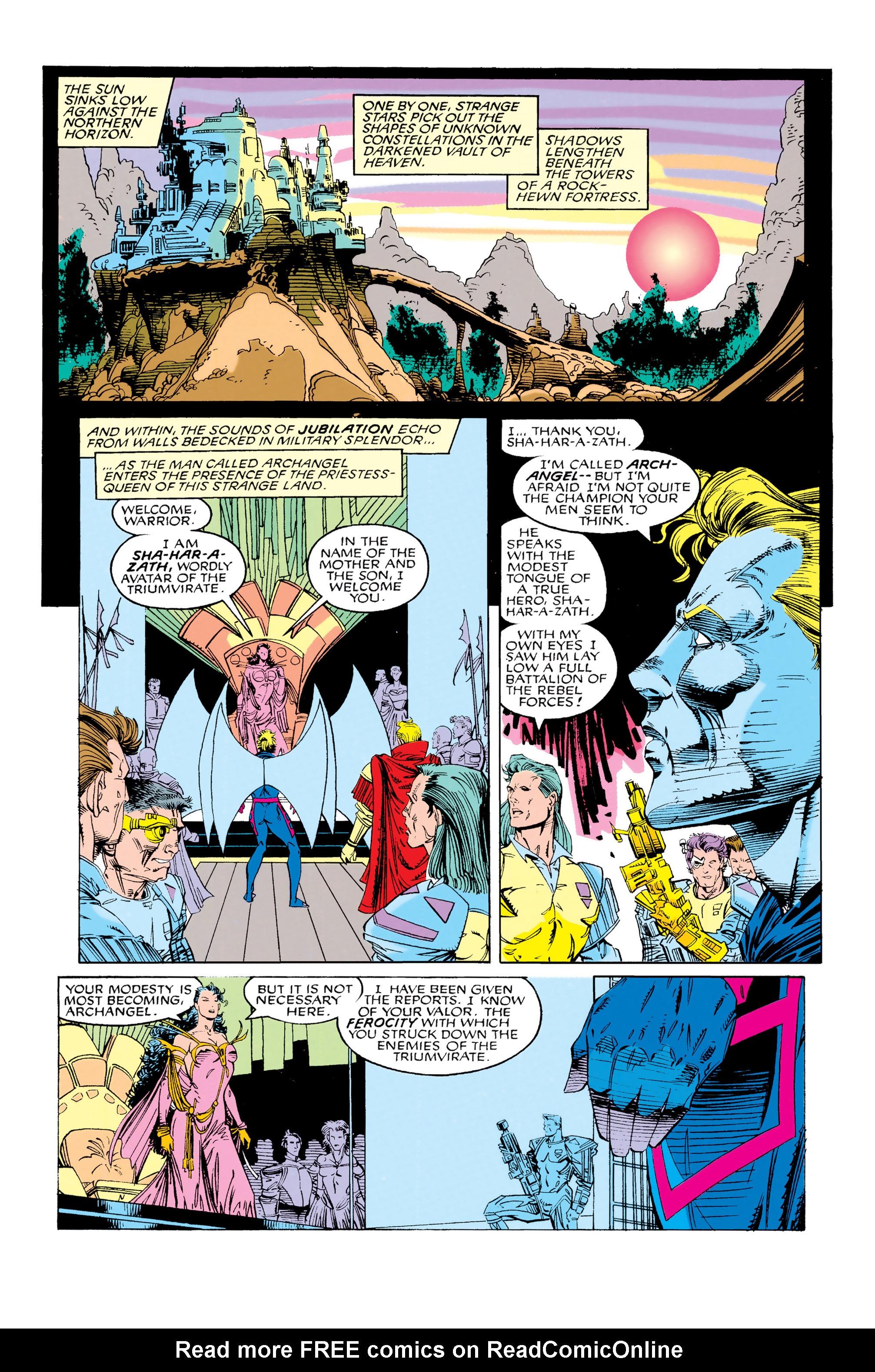 Read online Uncanny X-Men (1963) comic -  Issue #285 - 17