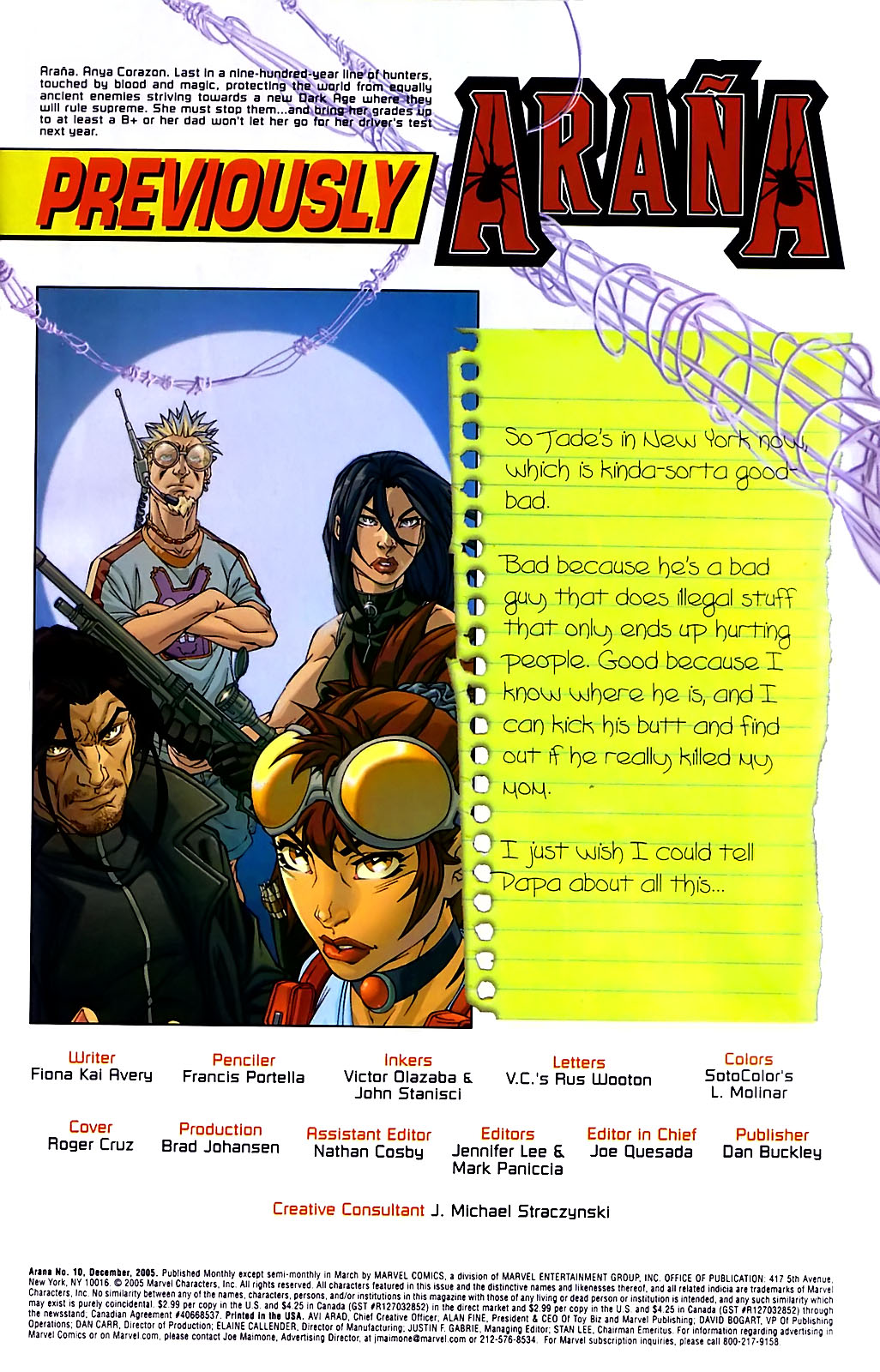 Read online Araña: Heart of the Spider comic -  Issue #10 - 2