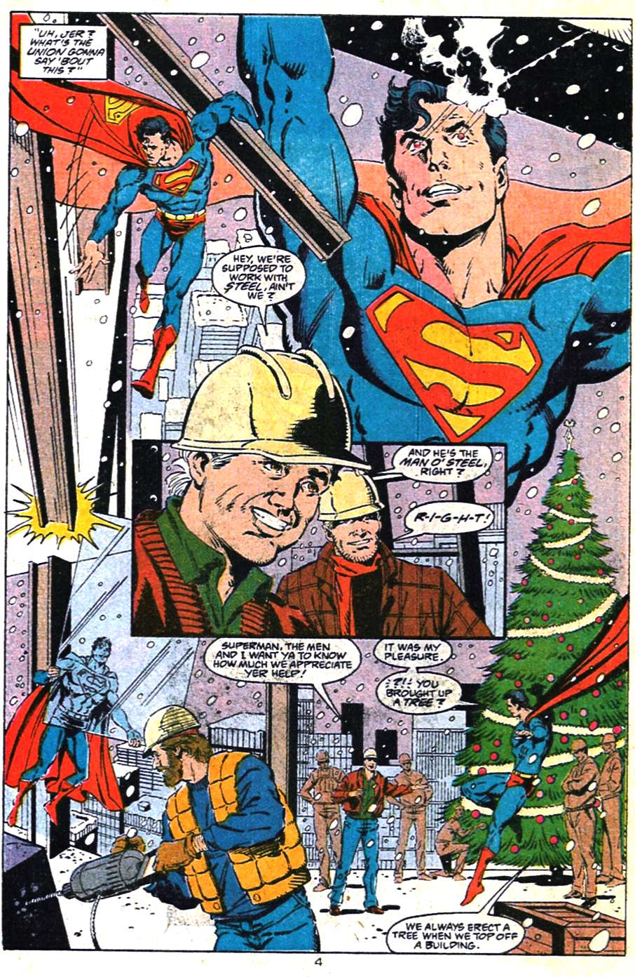 Read online Adventures of Superman (1987) comic -  Issue #462 - 5