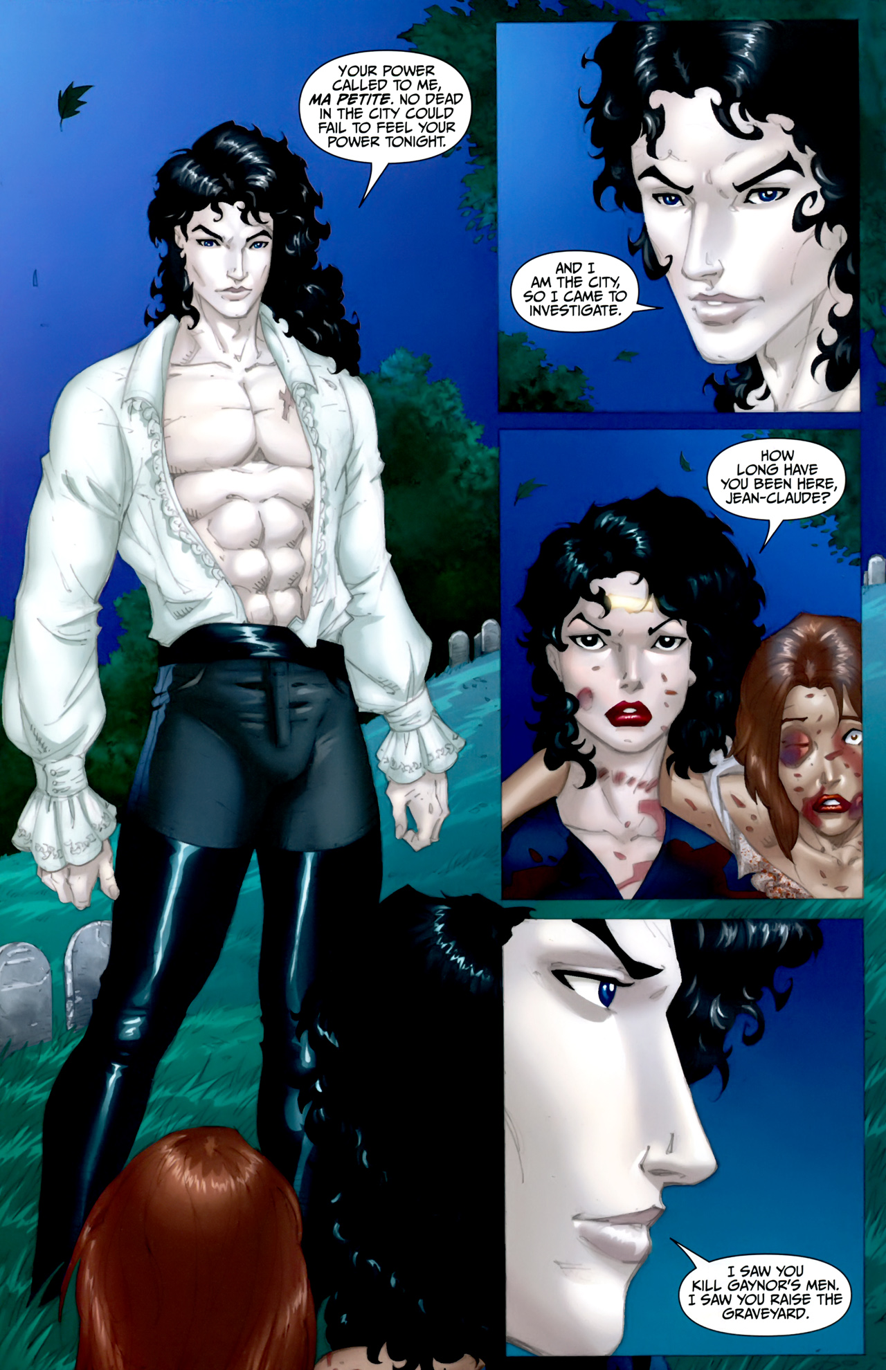Read online Anita Blake: The Laughing Corpse - Executioner comic -  Issue #5 - 19