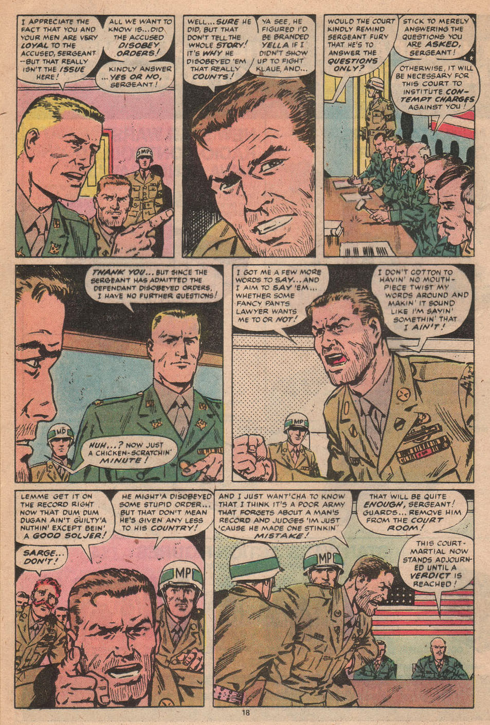 Read online Sgt. Fury comic -  Issue #156 - 19