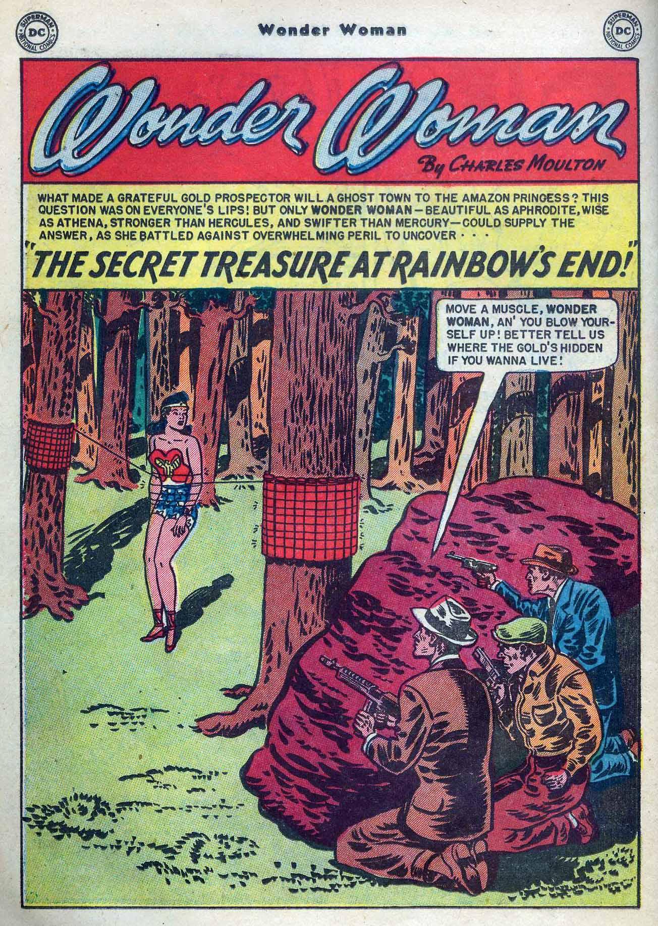 Read online Wonder Woman (1942) comic -  Issue #53 - 32