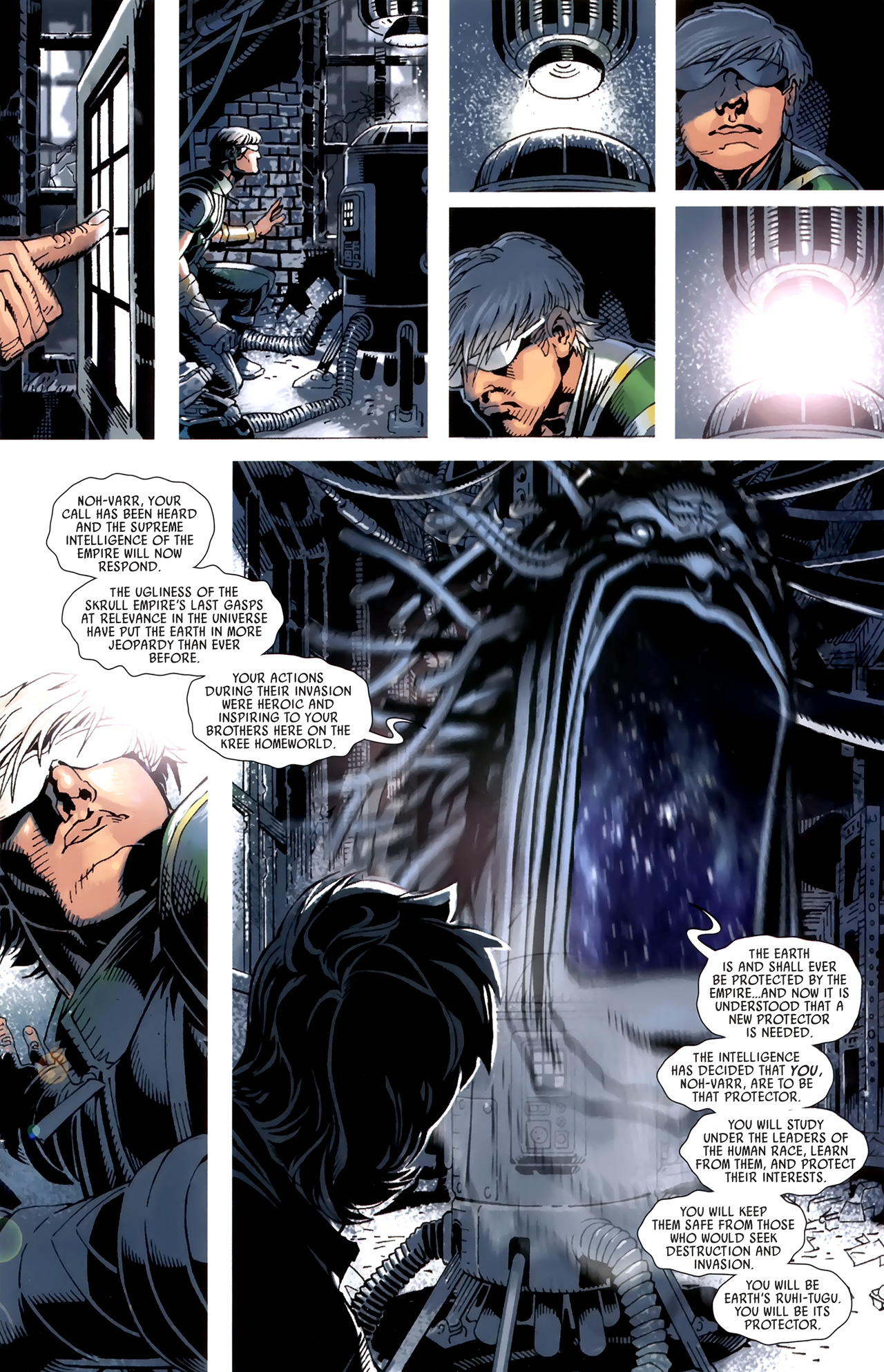 Read online Dark Avengers (2009) comic -  Issue # _Annual 1 - 20