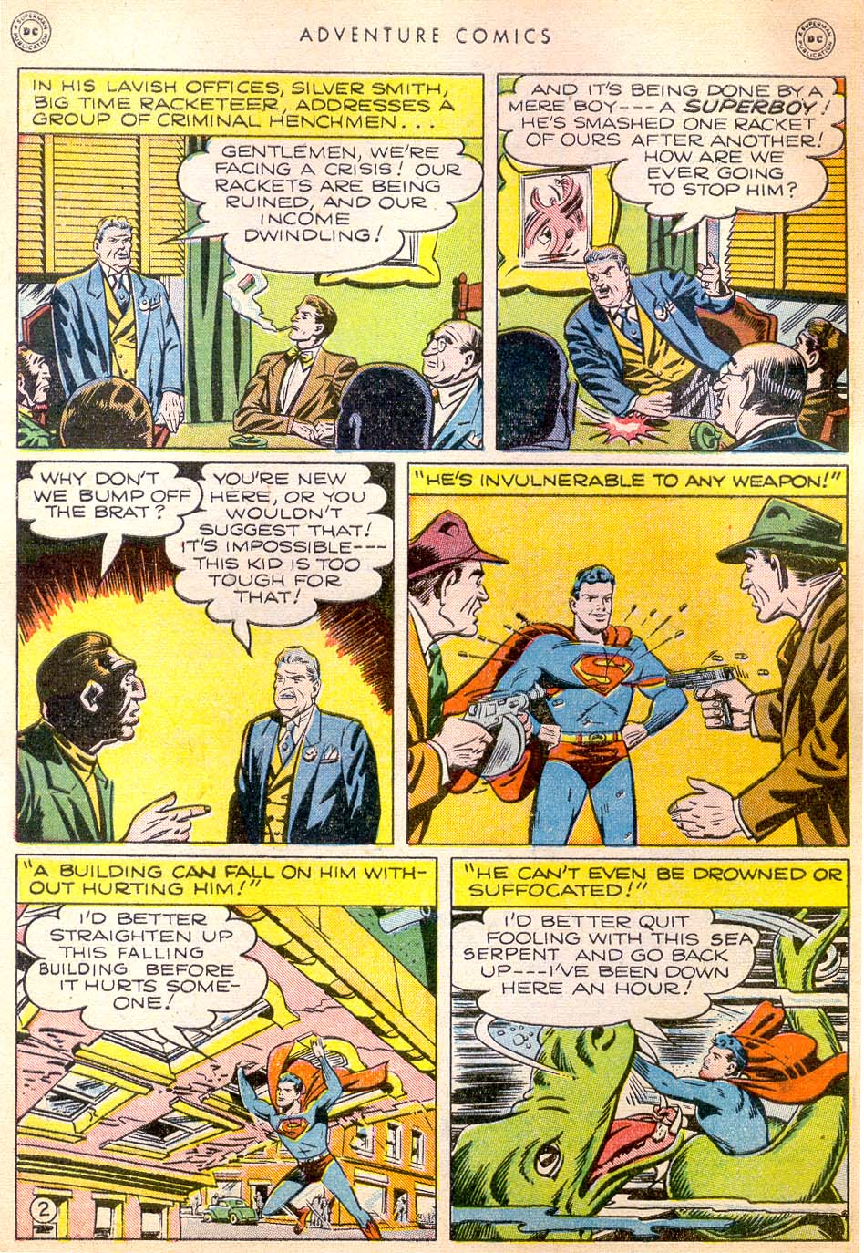Read online Adventure Comics (1938) comic -  Issue #144 - 3