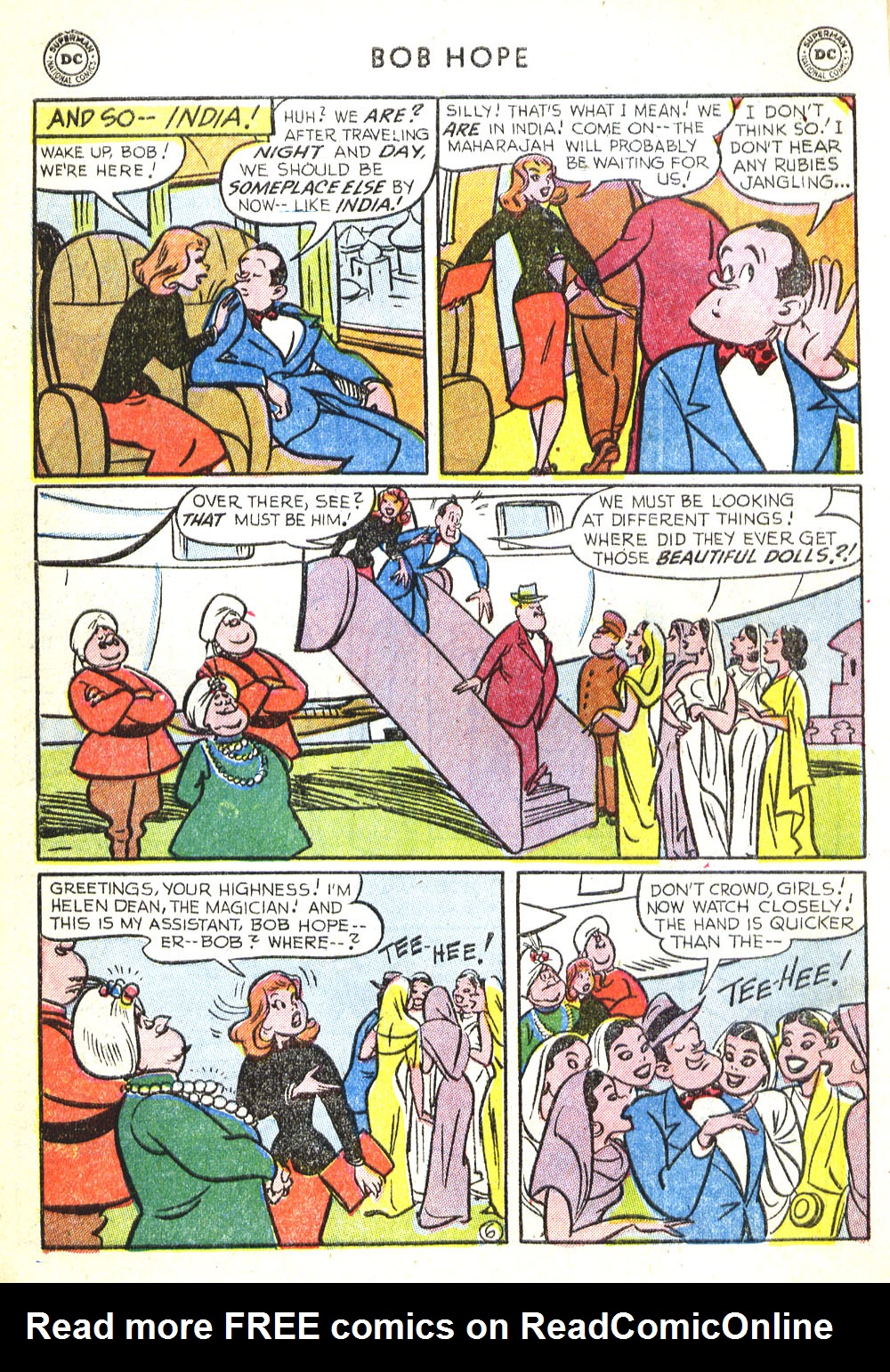 The Adventures of Bob Hope issue 30 - Page 8