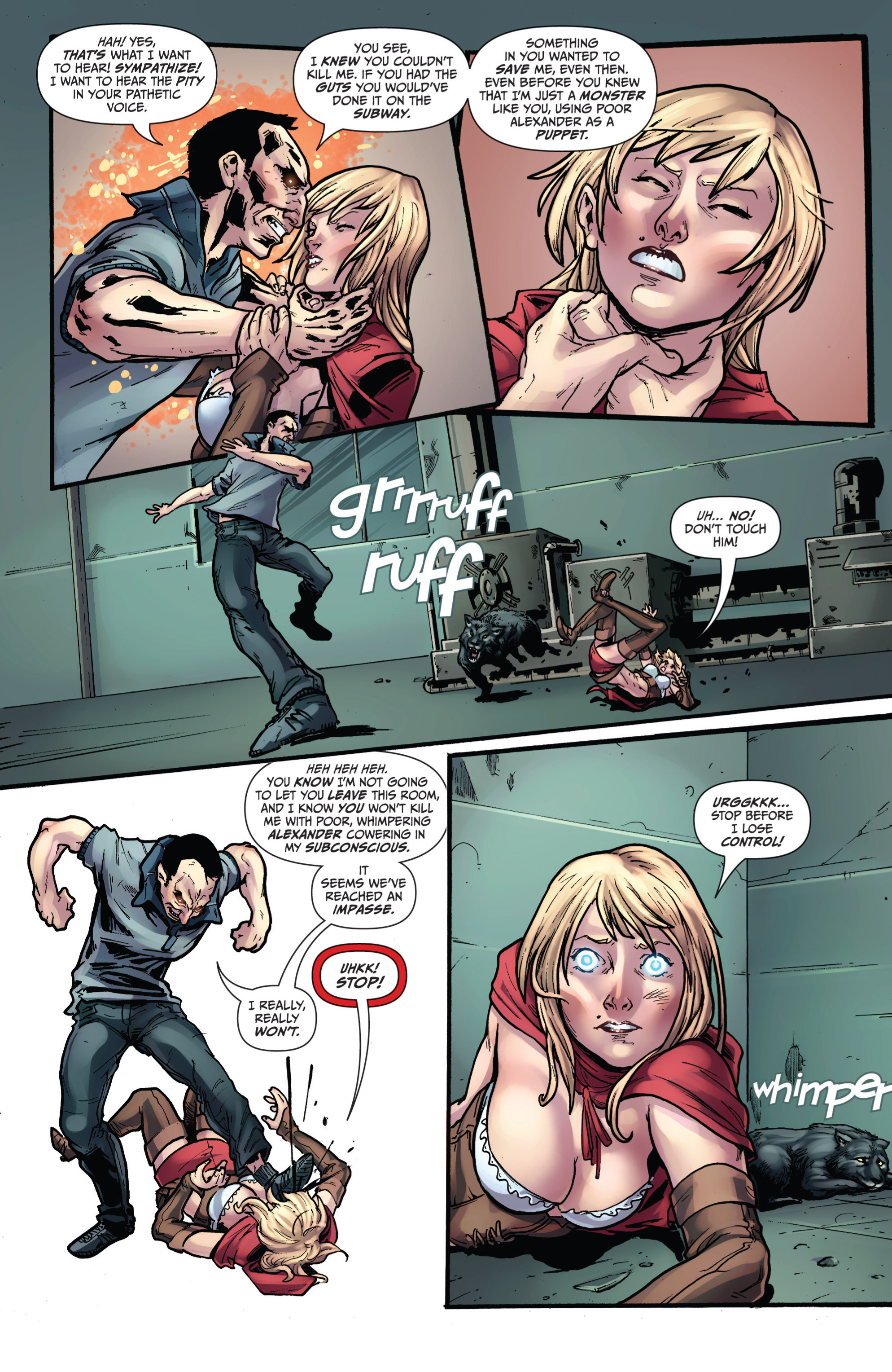Read online Grimm Fairy Tales presents Grimm Universe comic -  Issue # TPB - 91