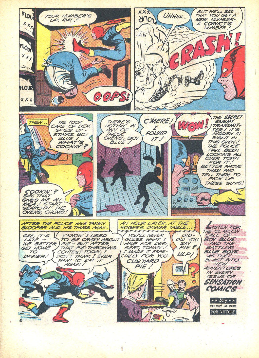 Read online Sensation (Mystery) Comics comic -  Issue #23 - 30