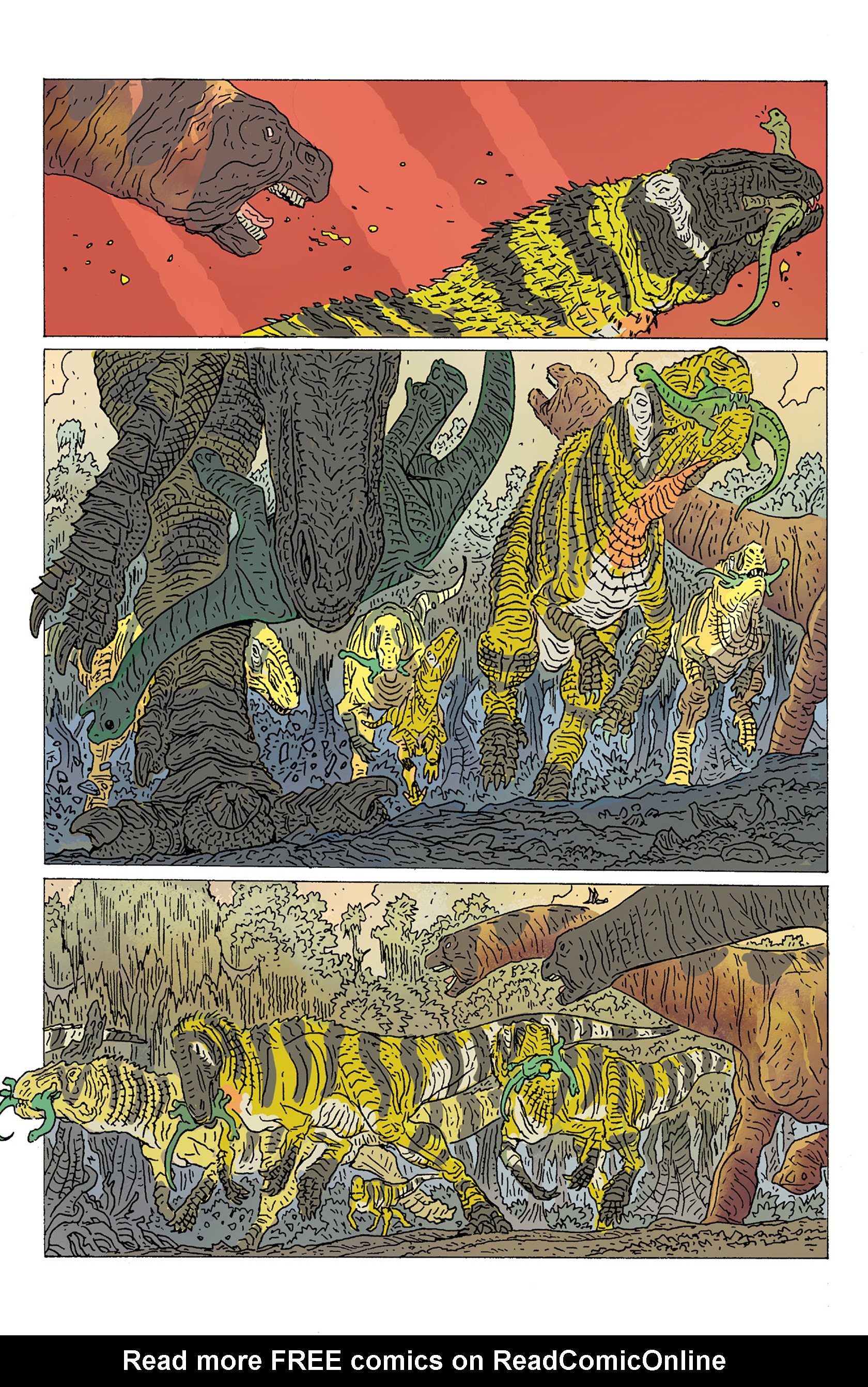 Read online Age of Reptiles: Ancient Egyptians comic -  Issue #2 - 8