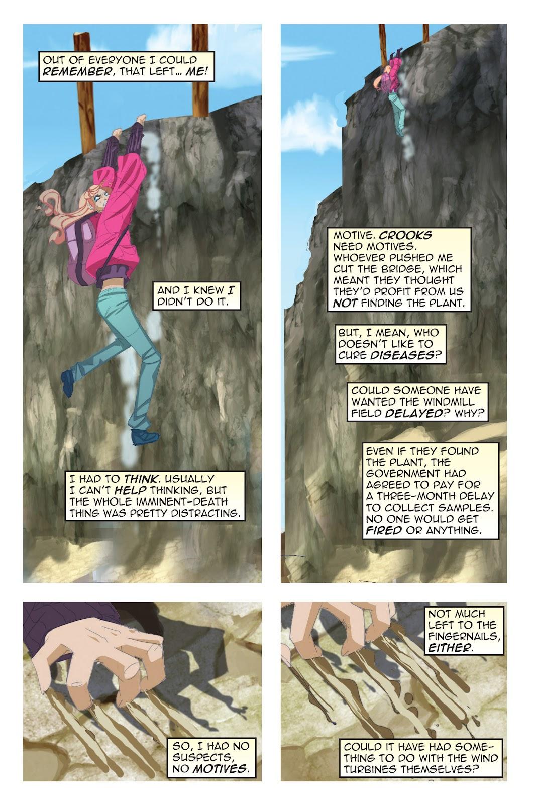 Read online Nancy Drew comic -  Issue #19 - 22