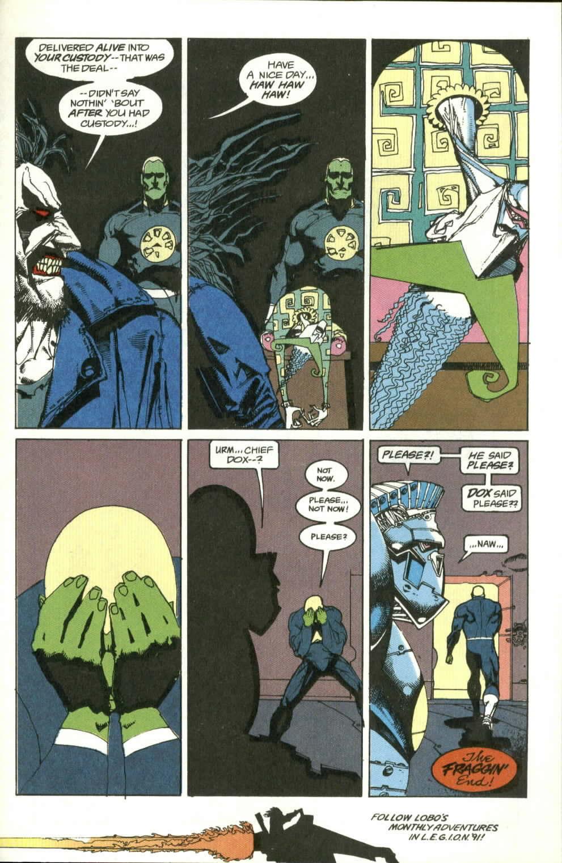 Read online Lobo (1990) comic -  Issue #4 - 24