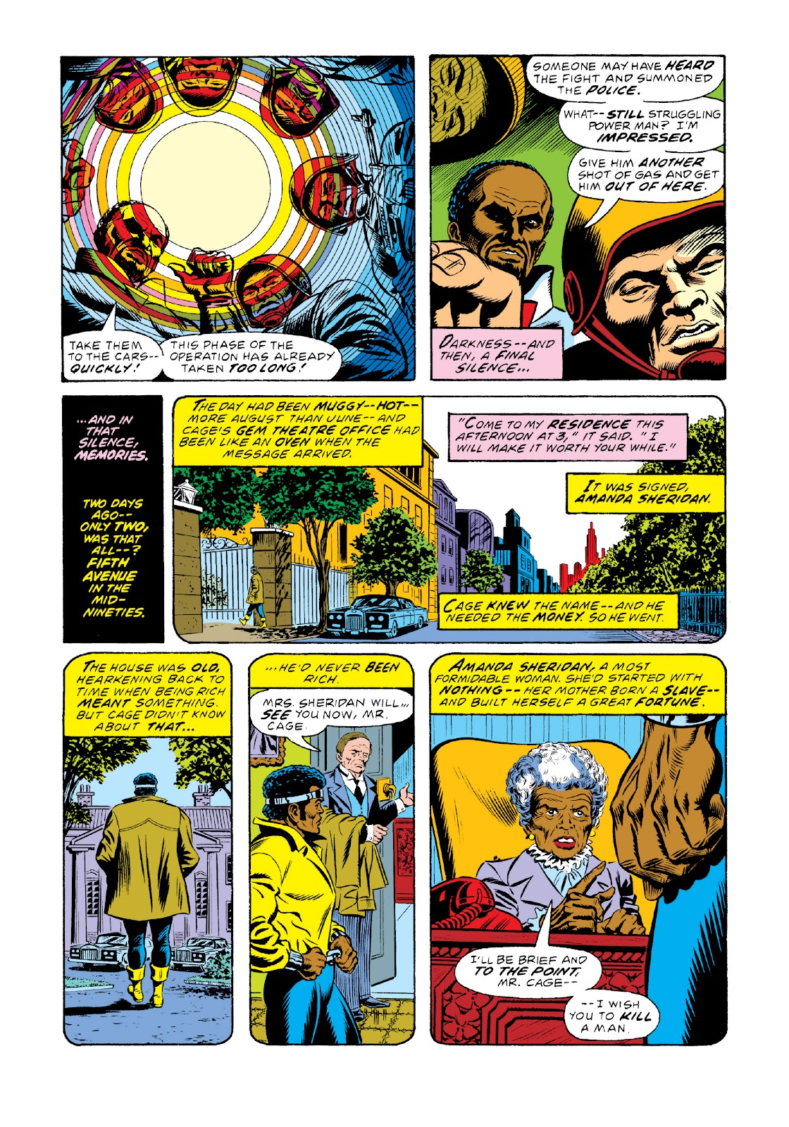 Read online Marvel Masterworks: Luke Cage, Power Man comic -  Issue # TPB 3 (Part 1) - 90