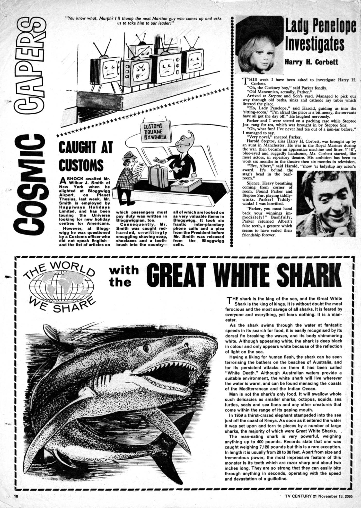 Read online TV Century 21 (TV 21) comic -  Issue #43 - 17