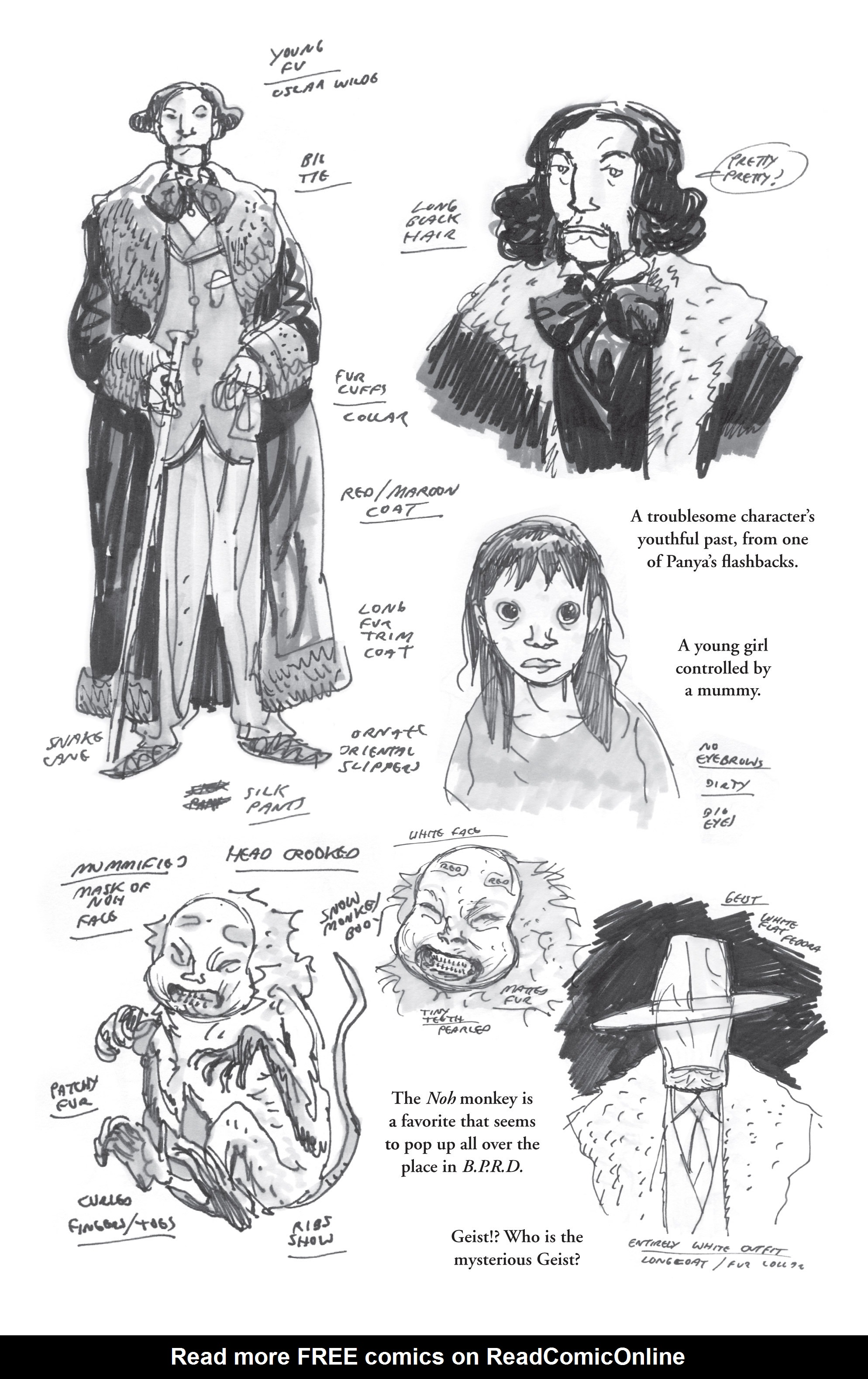 Read online B.P.R.D. (2003) comic -  Issue # TPB 7 - 140