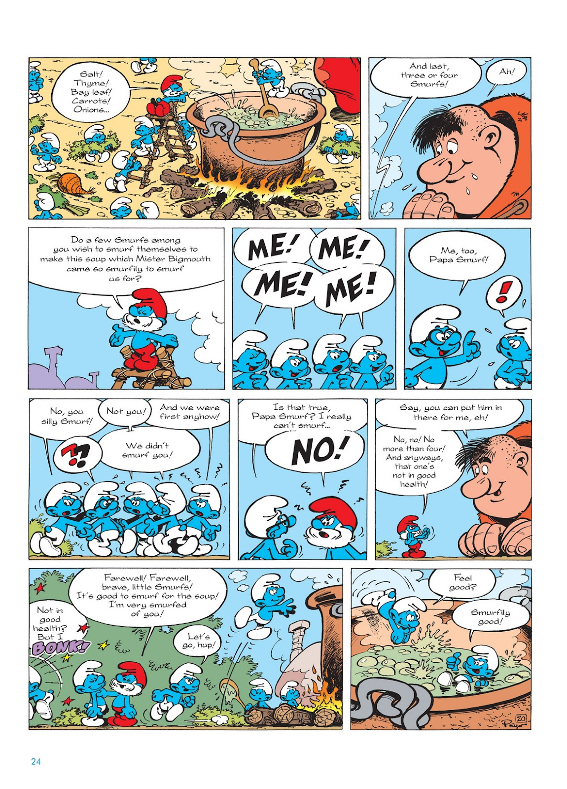 Read online The Smurfs comic -  Issue #13 - 24