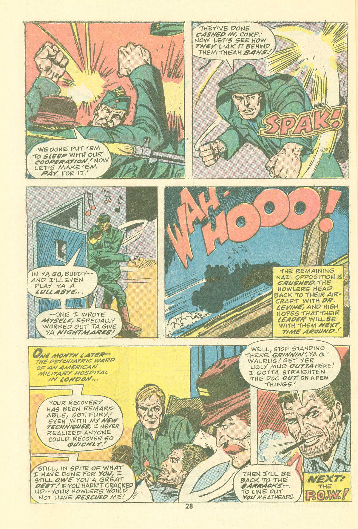 Read online Sgt. Fury comic -  Issue #115 - 30