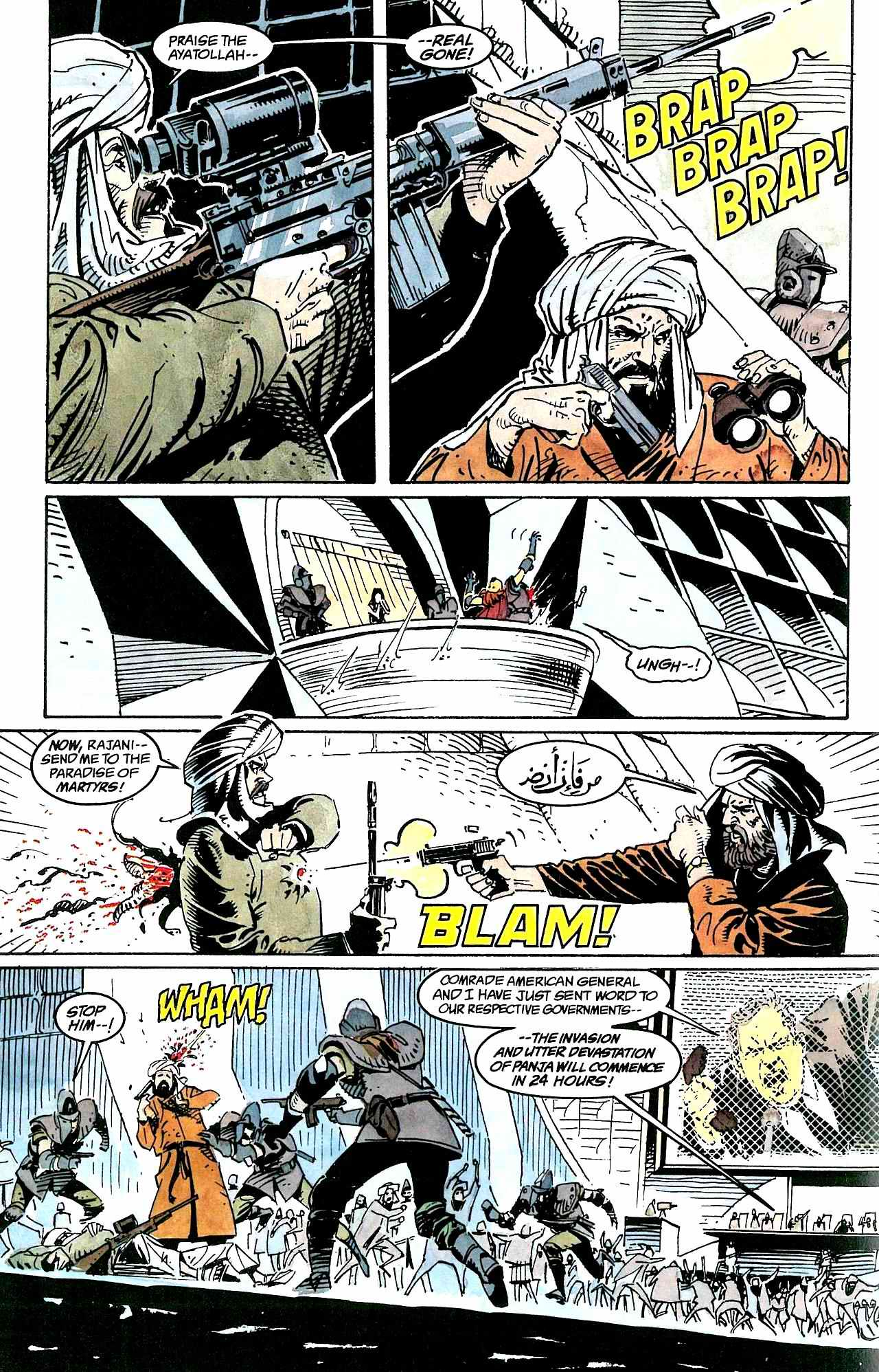 Read online Clash comic -  Issue #3 - 32