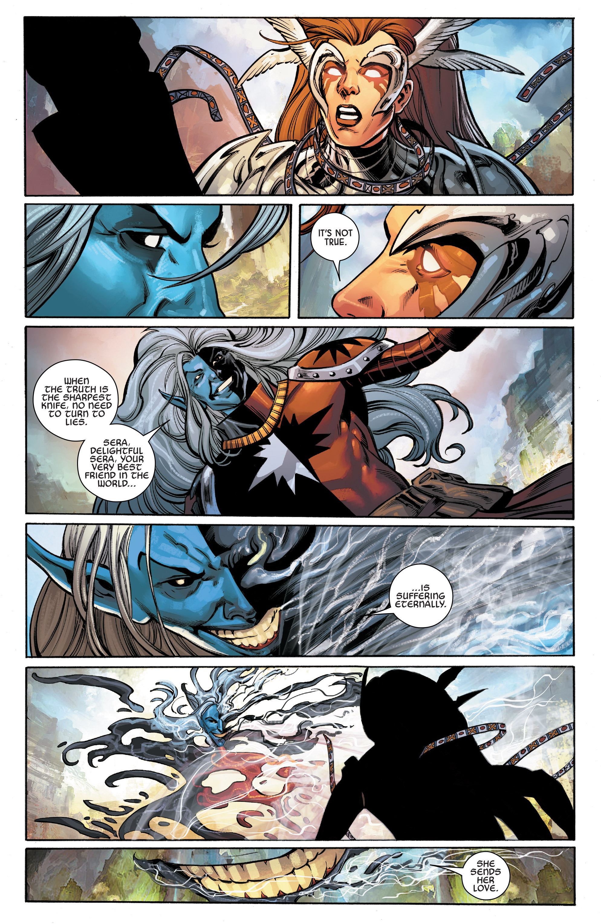 Read online Angela: Asgard's Assassin comic -  Issue #6 - 21