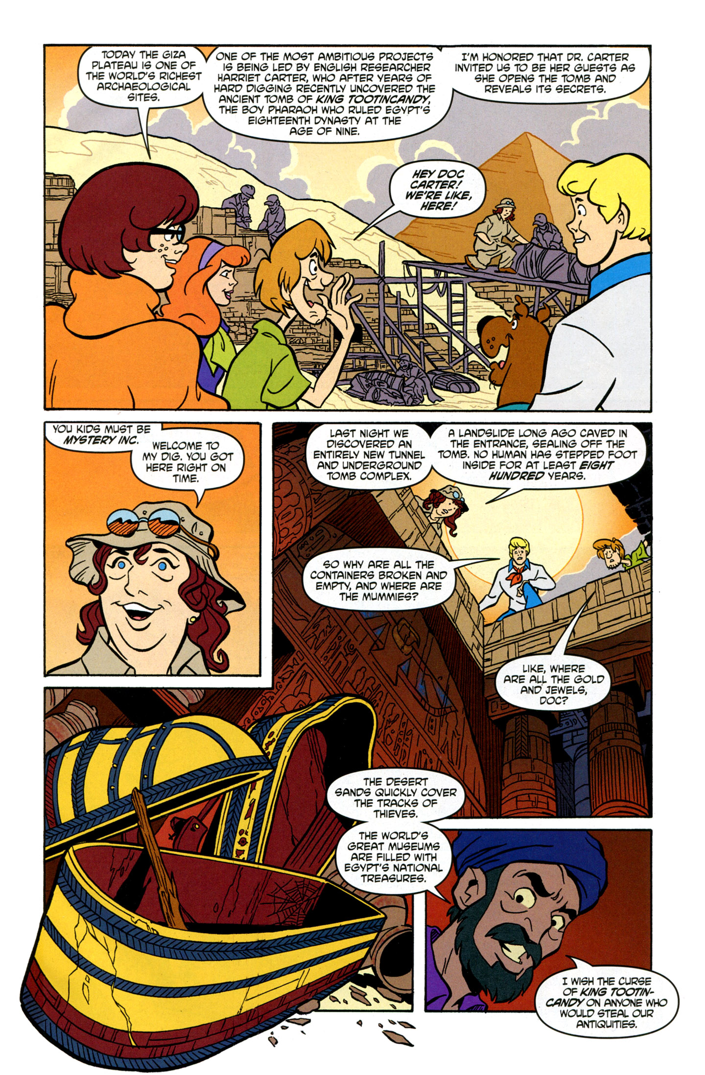 Read online Scooby-Doo: Where Are You? comic -  Issue #16 - 5