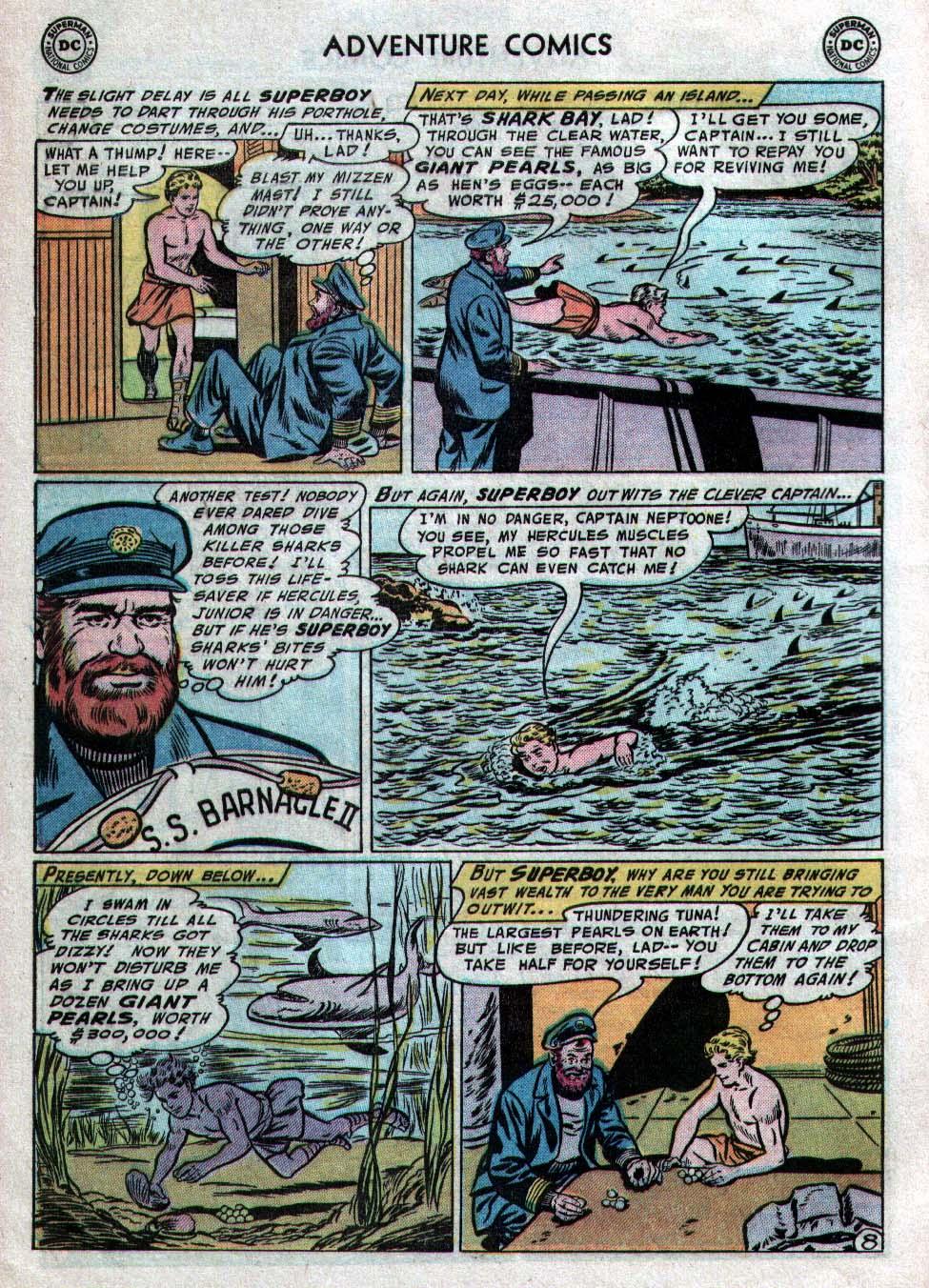 Read online Adventure Comics (1938) comic -  Issue #223 - 10