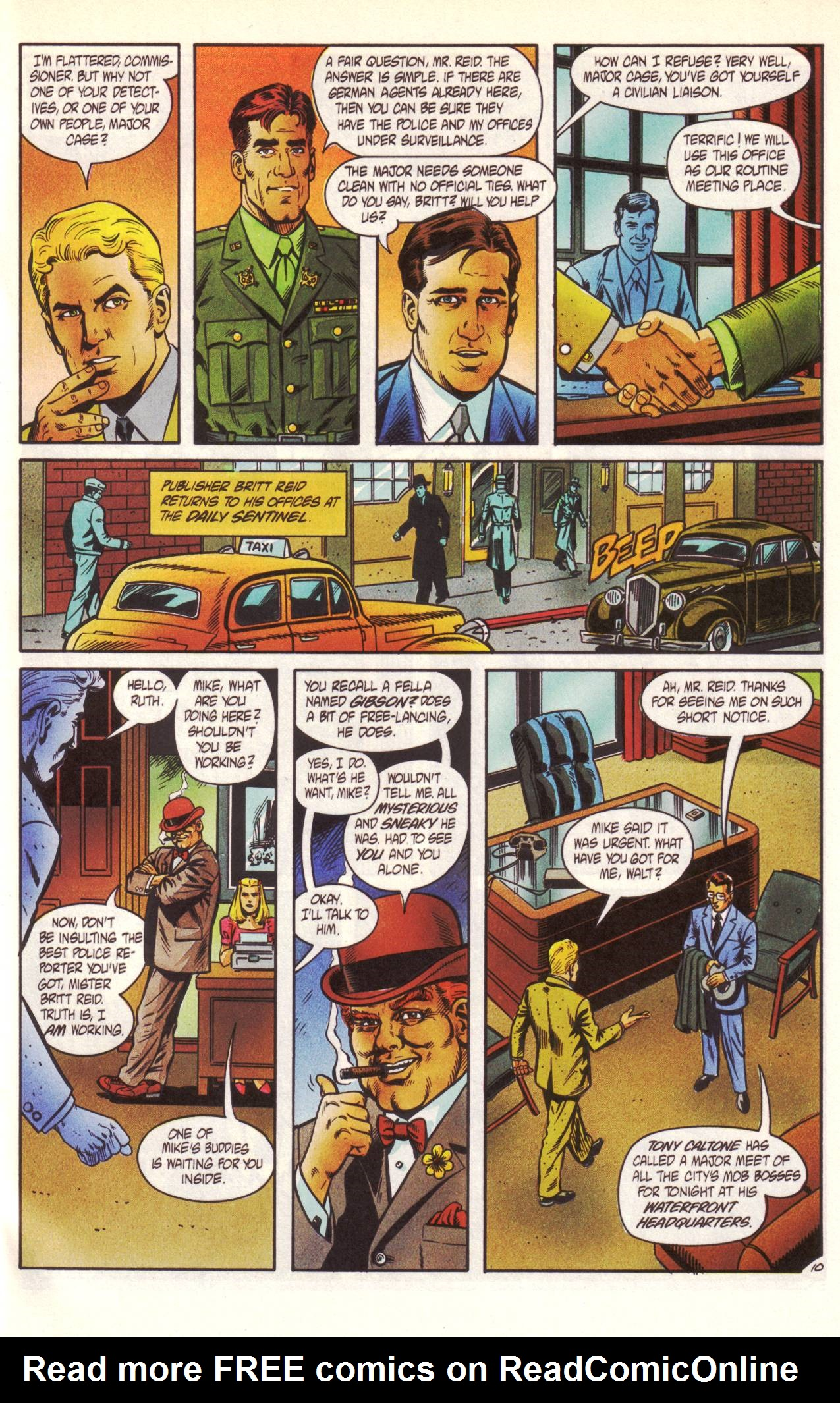 Read online Sting of The Green Hornet comic -  Issue #1 - 11