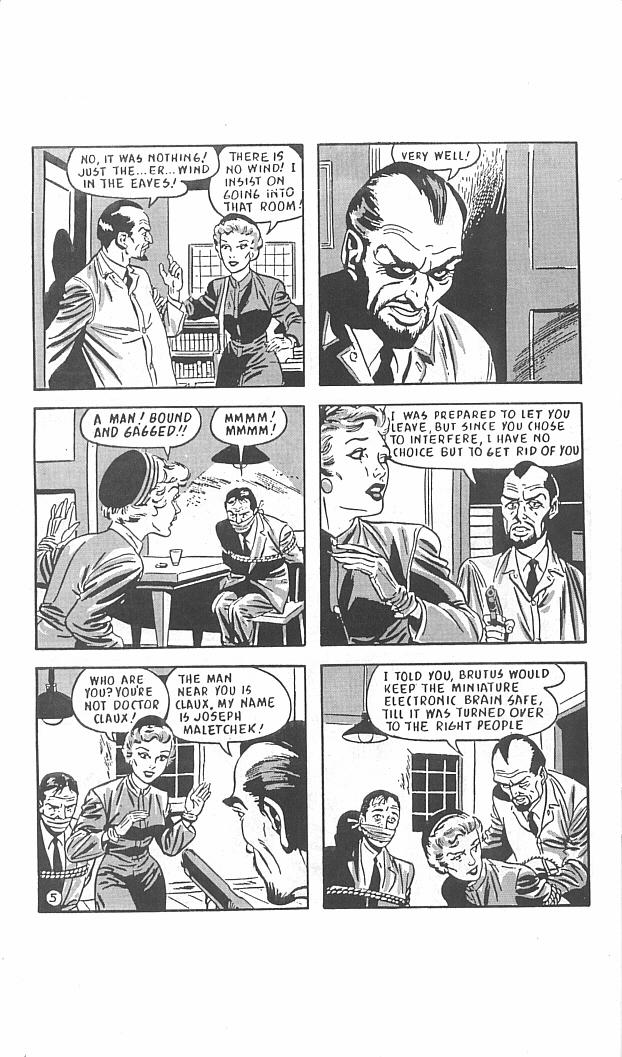 Read online Golden-Age Men of Mystery comic -  Issue #11 - 34