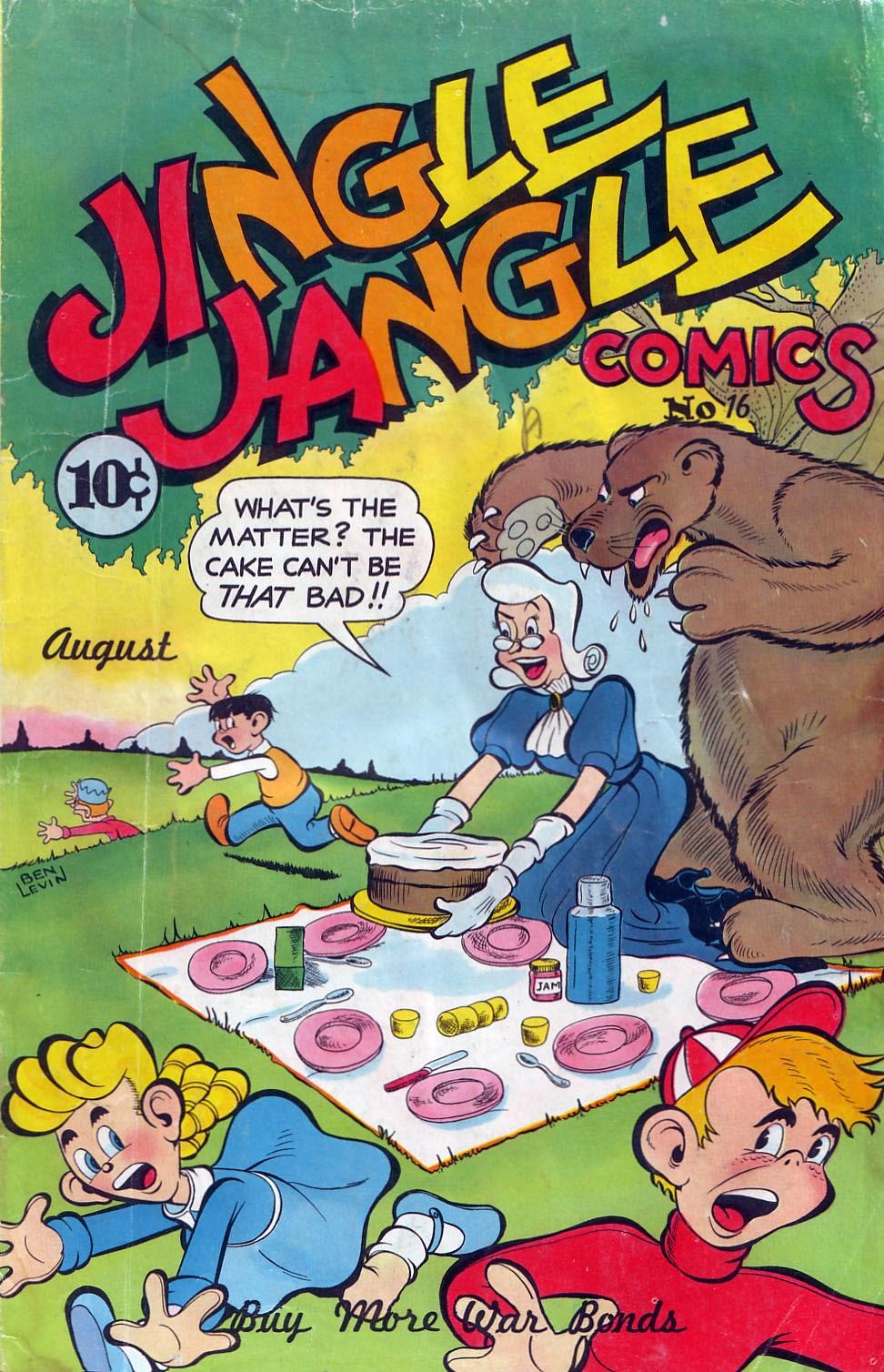 Jingle Jangle Comics issue 16 - Page 1