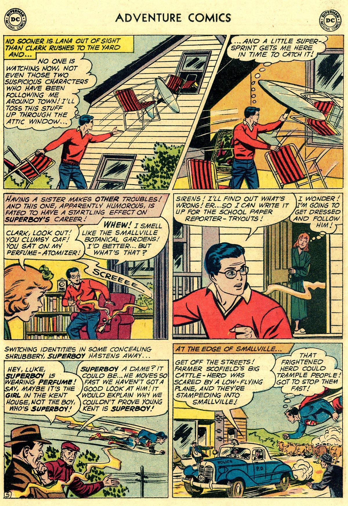 Read online Adventure Comics (1938) comic -  Issue #297 - 7