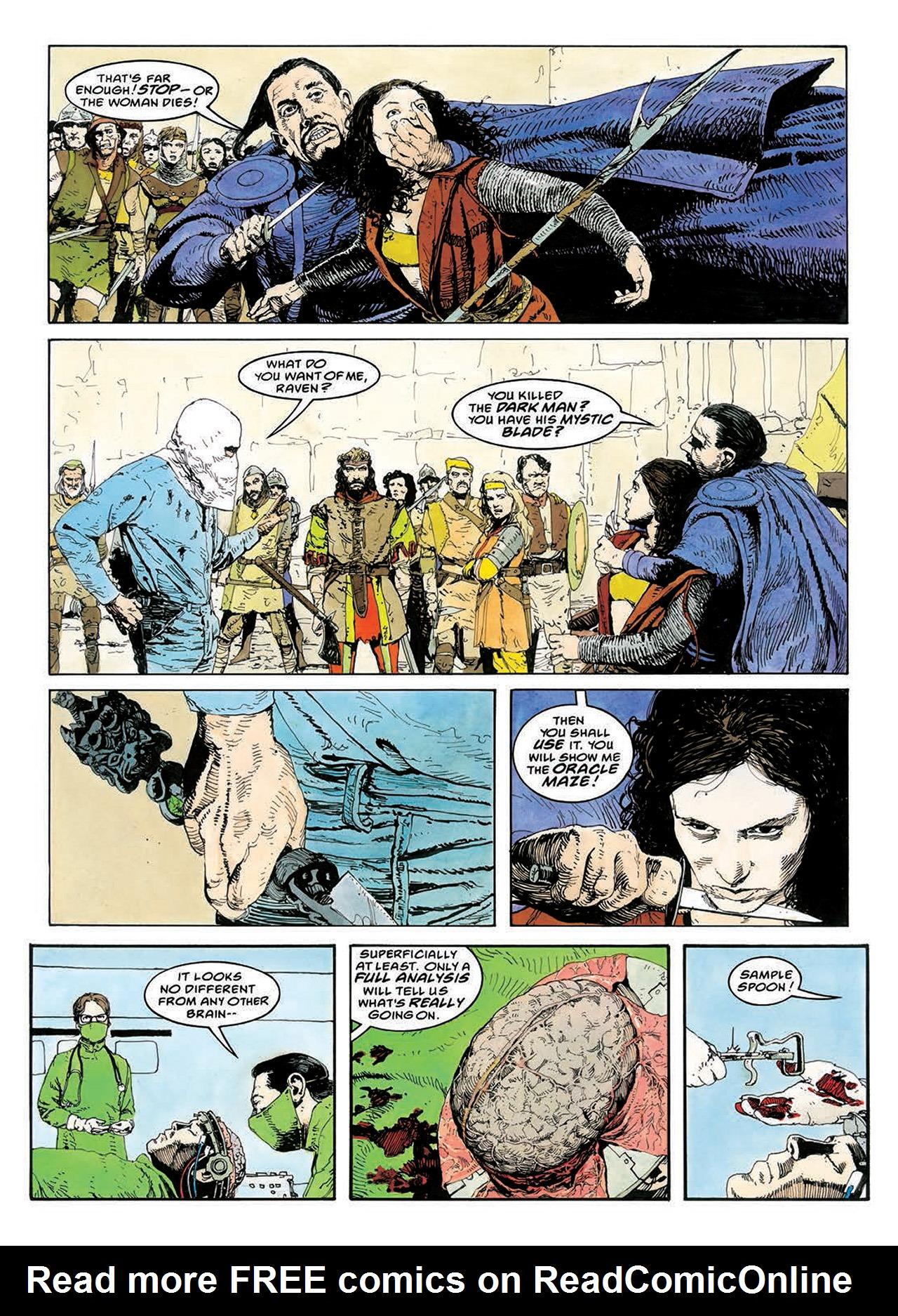 Read online Mazeworld comic -  Issue # TPB - 119