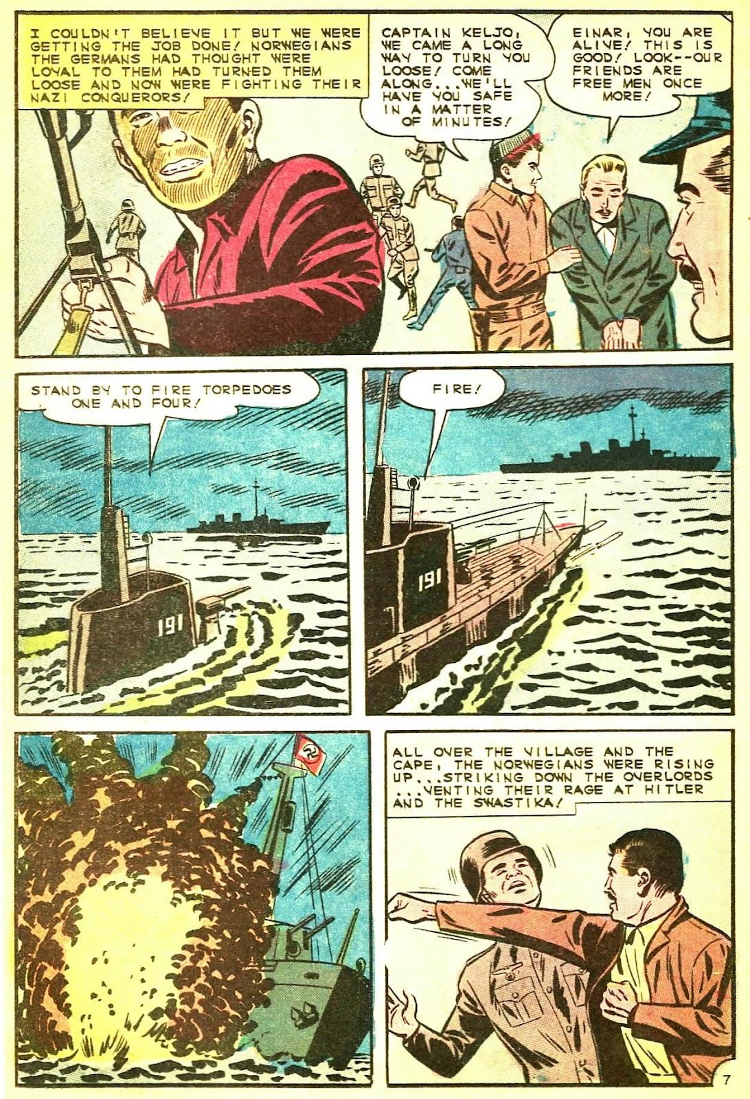 Read online Fightin' Navy comic -  Issue #124 - 21