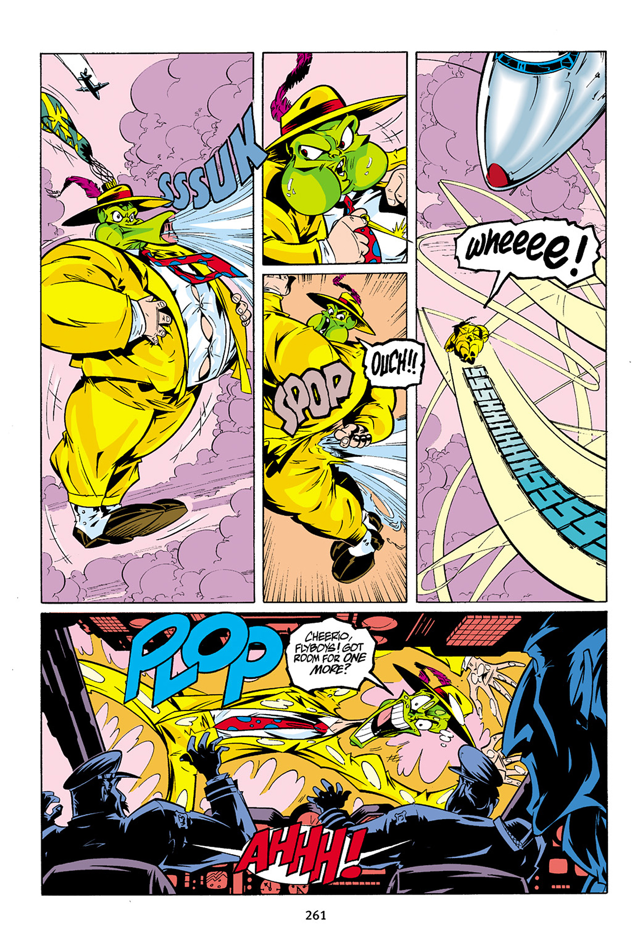 Read online Adventures Of The Mask Omnibus comic -  Issue #Adventures Of The Mask Omnibus Full - 260
