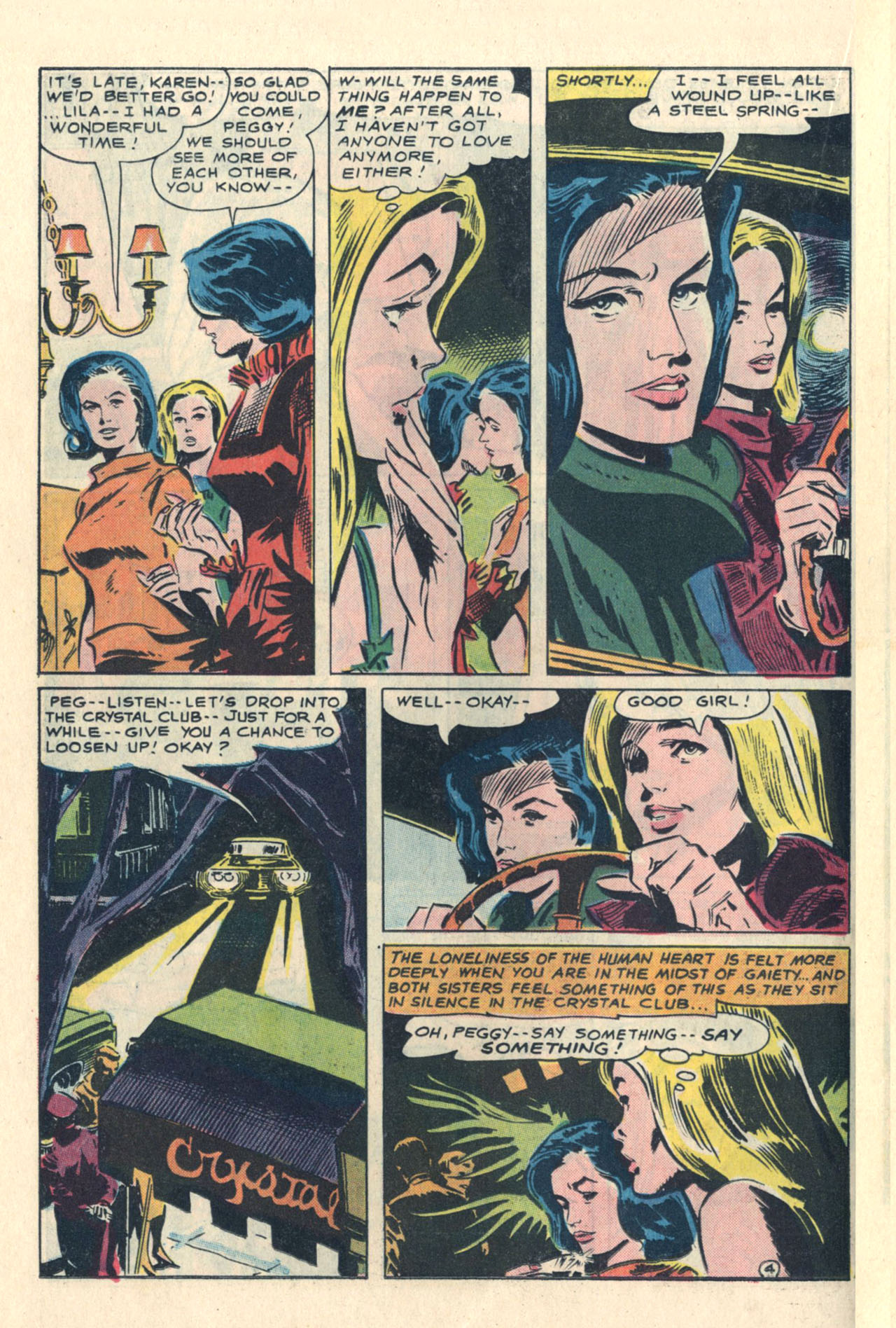 Read online Secret Hearts comic -  Issue #113 - 22