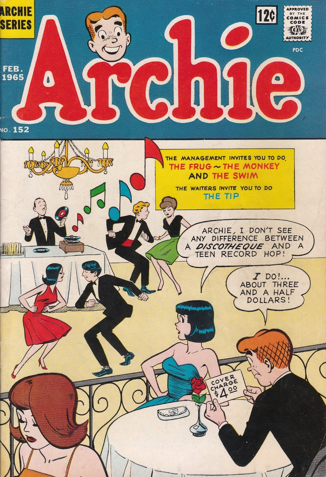 Read online Archie (1960) comic -  Issue #152 - 1
