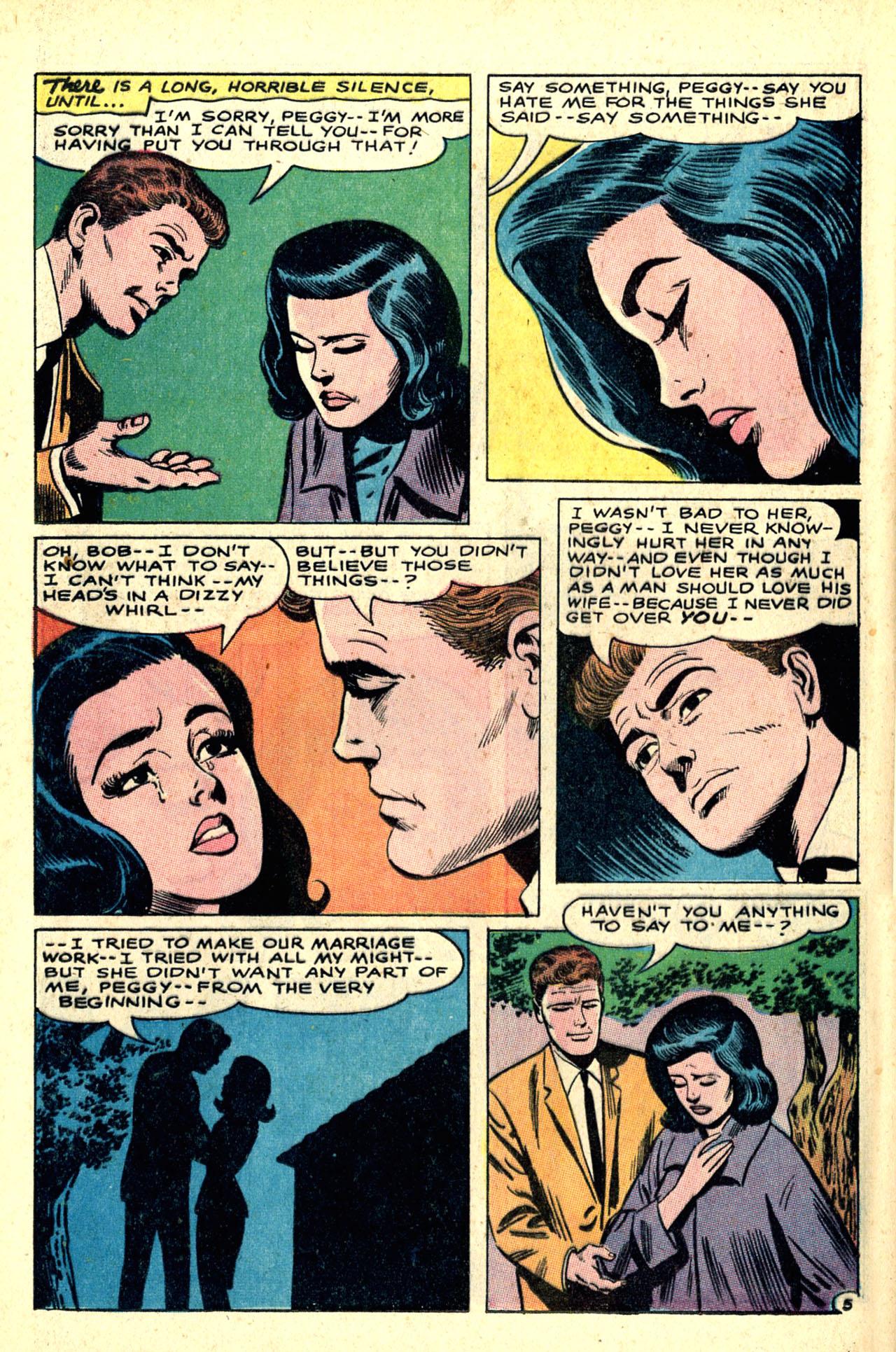 Read online Secret Hearts comic -  Issue #121 - 24