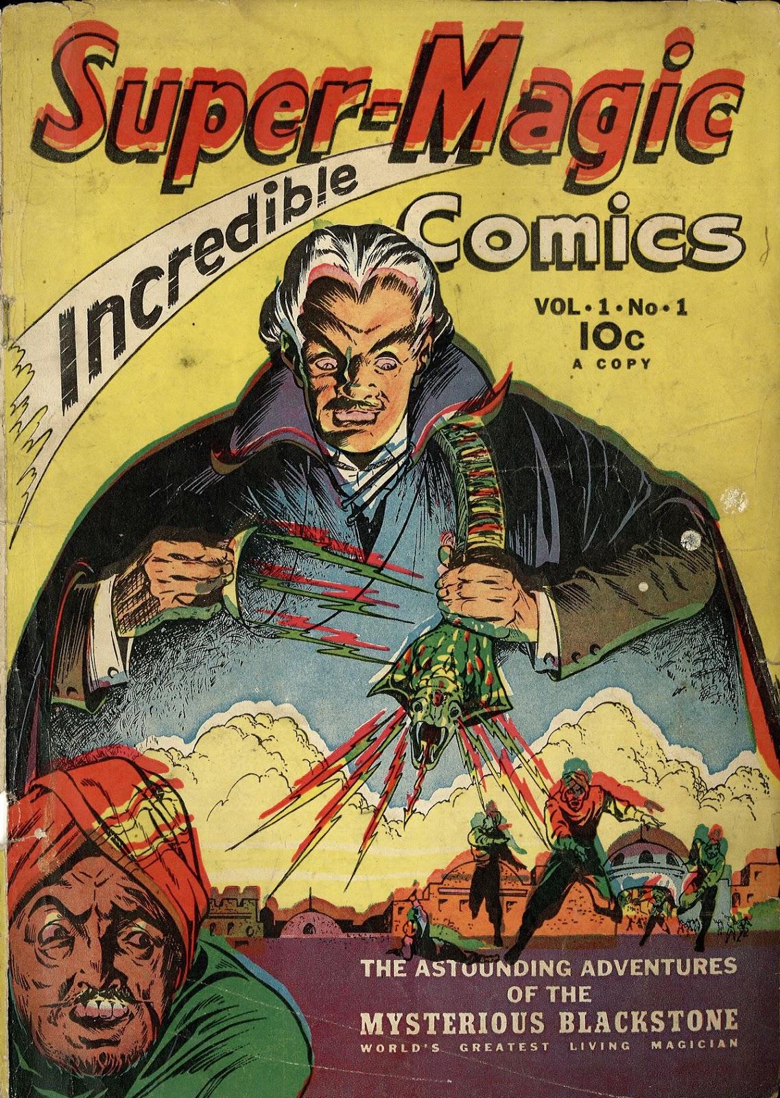 Read online Super-Magician Comics comic -  Issue #1 - 1