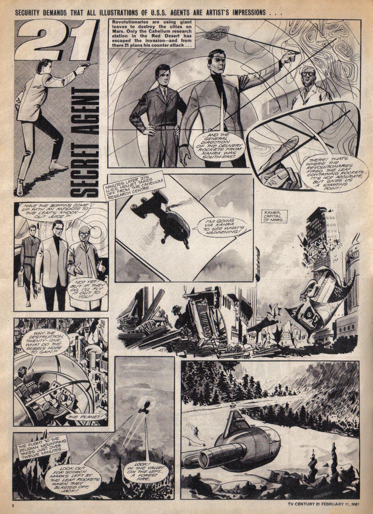 Read online TV Century 21 (TV 21) comic -  Issue #108 - 2