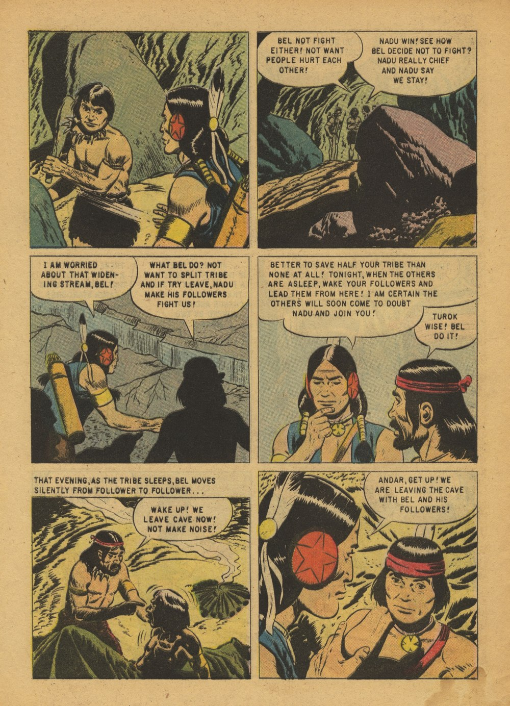 Read online Turok, Son of Stone comic -  Issue #15 - 28