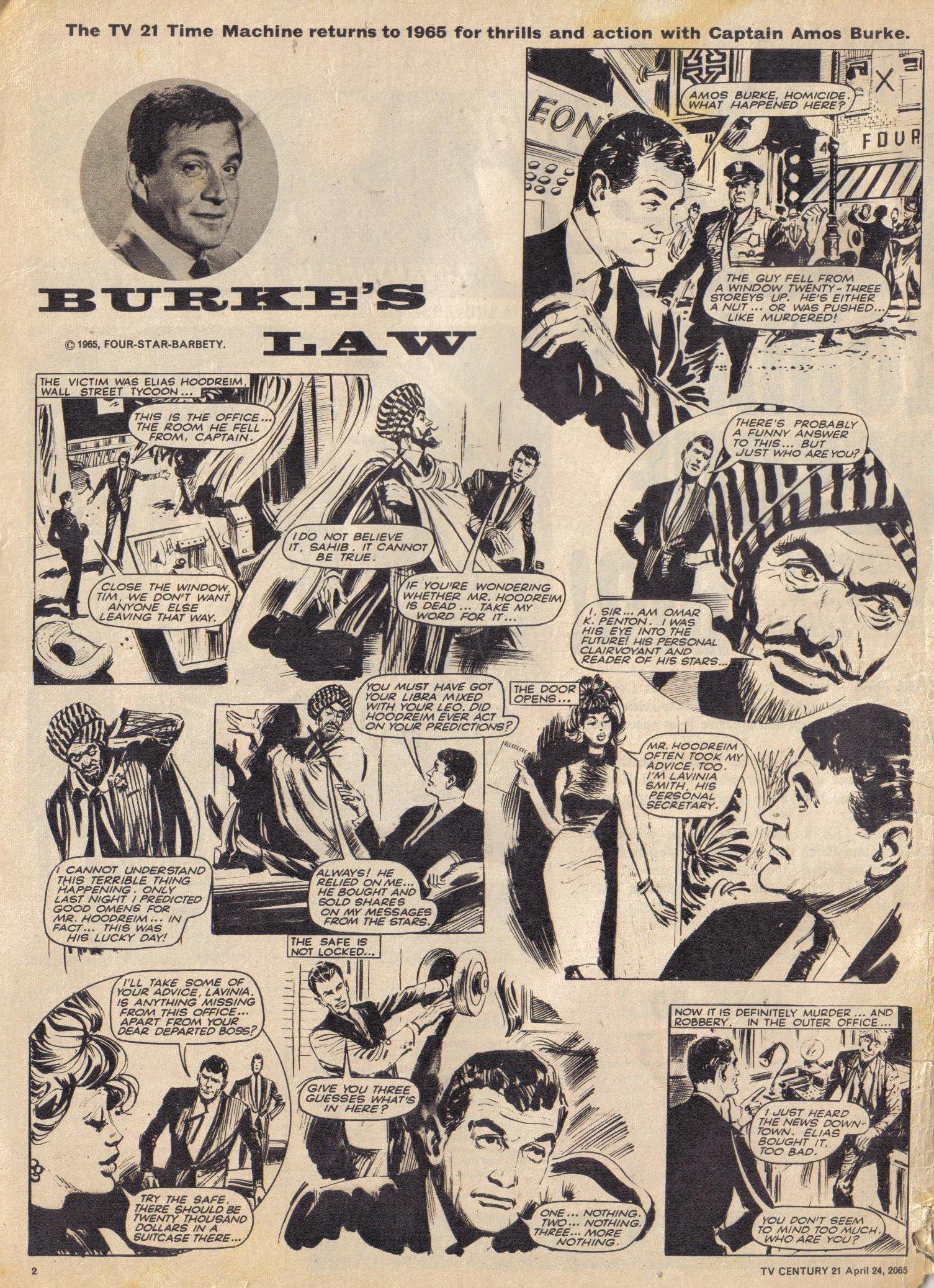 Read online TV Century 21 (TV 21) comic -  Issue #14 - 2