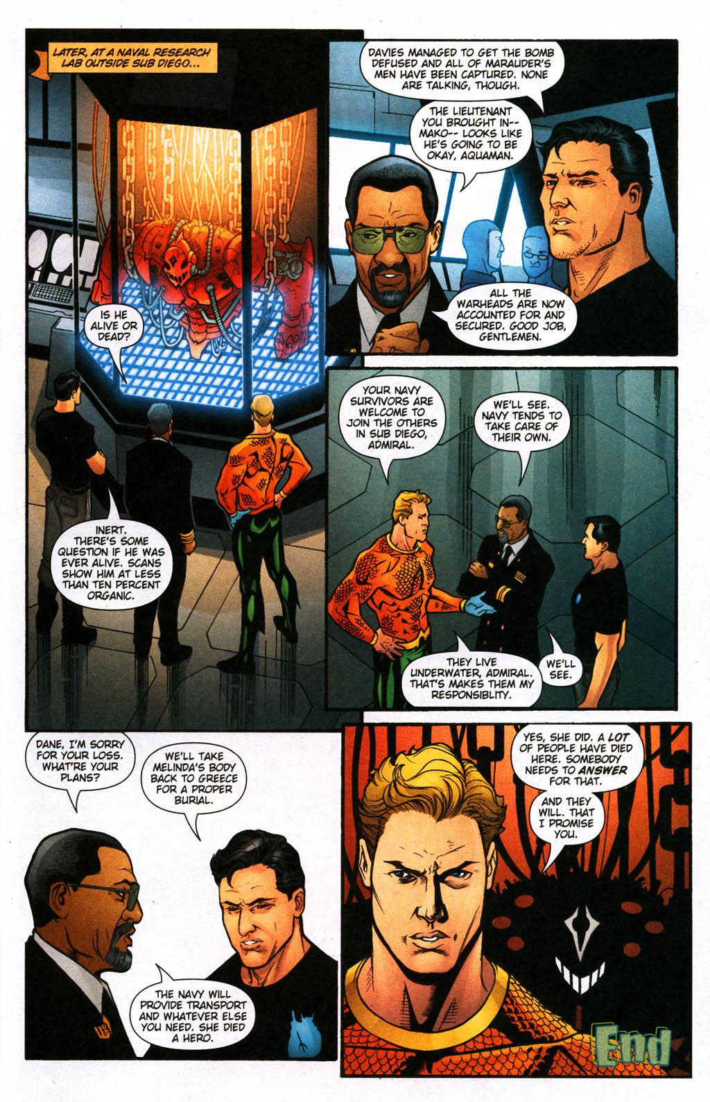 Read online Aquaman (2003) comic -  Issue #24 - 23