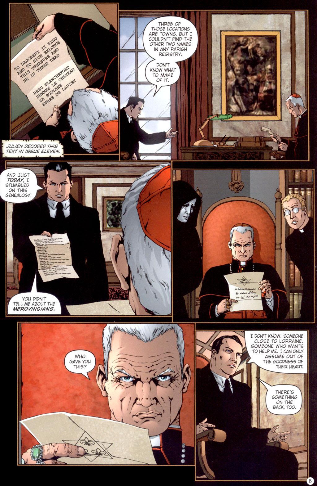 Read online Rex Mundi comic -  Issue #13 - 15