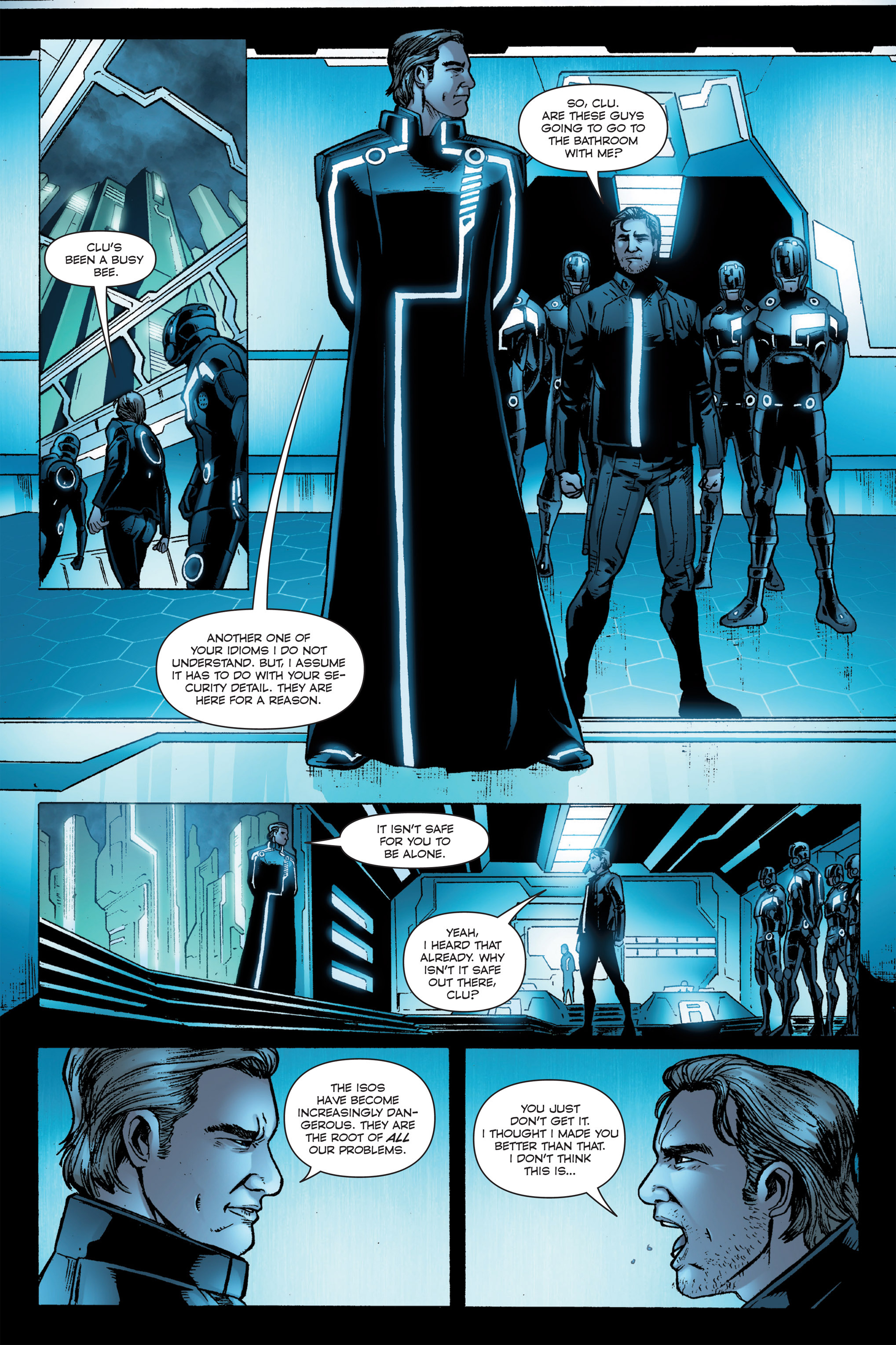 Read online TRON: Betrayal comic -  Issue # TPB - 89