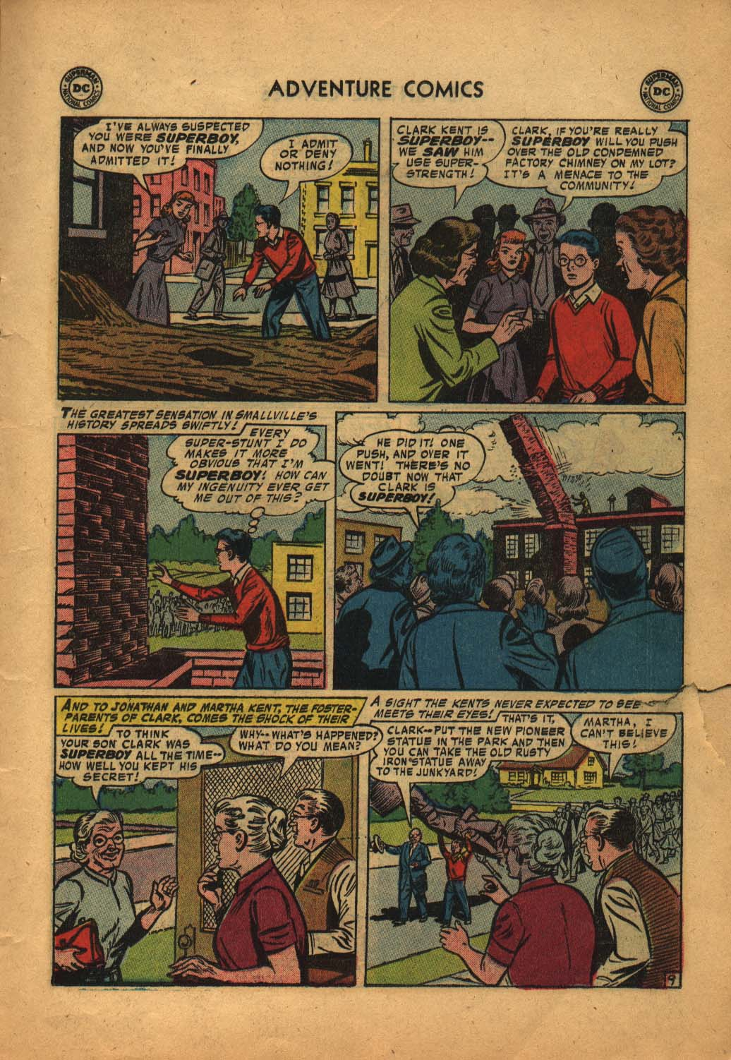 Read online Adventure Comics (1938) comic -  Issue #240 - 11