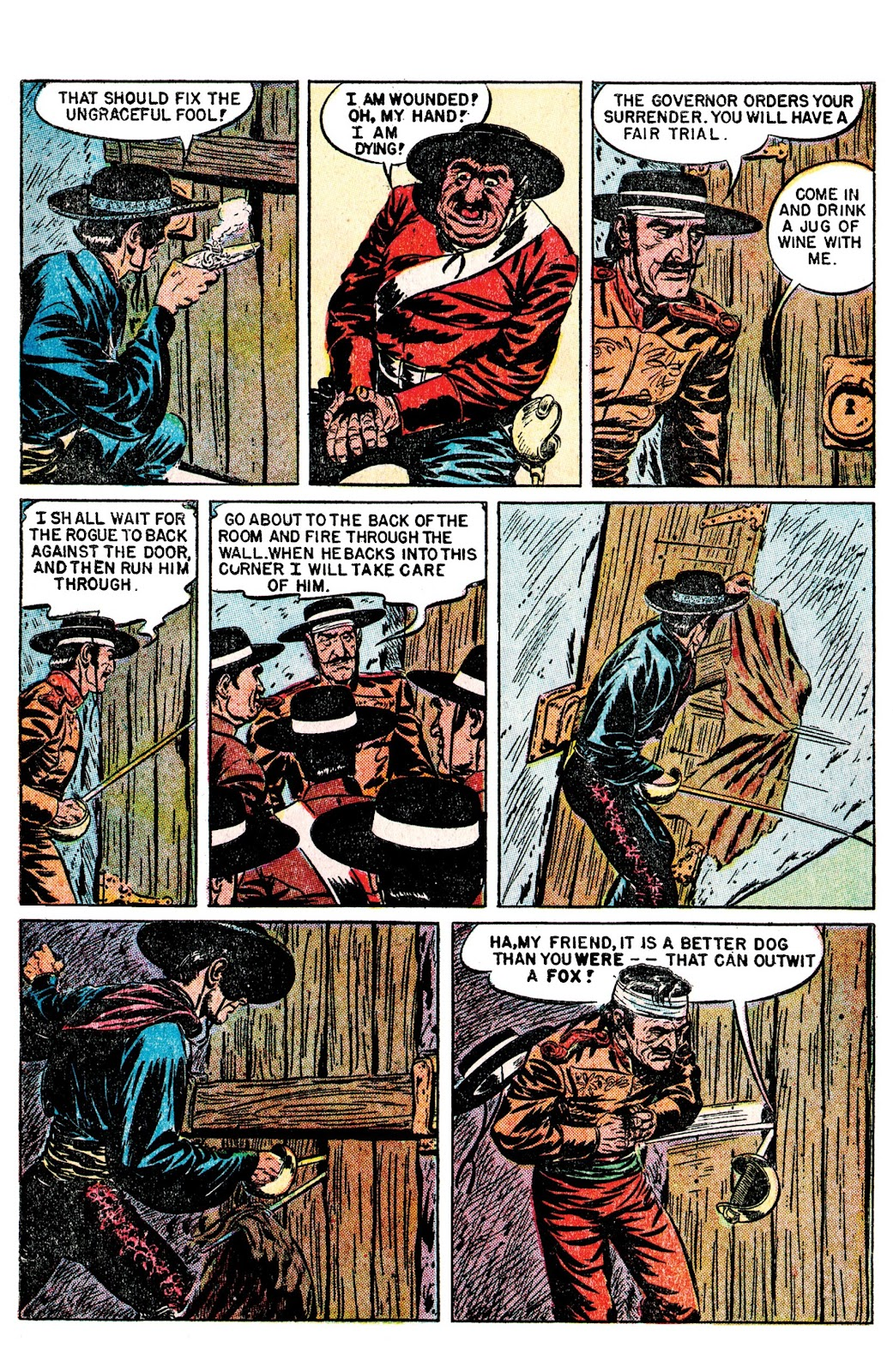 Read online AM Archives: The Mark of Zorro #1 1949 Dell Edition comic -  Issue #1 1949 Dell Edition Full - 31