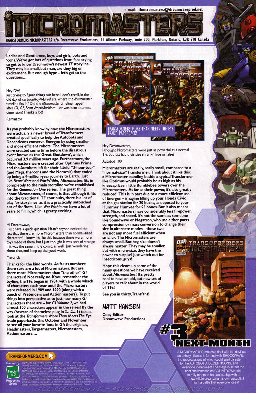 Read online Transformers: Micromasters comic -  Issue #2 - 25