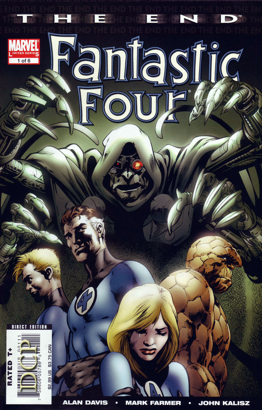 Fantastic Four: The End 1 Page 1