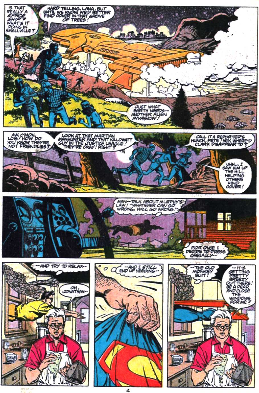 Read online Adventures of Superman (1987) comic -  Issue #469 - 5